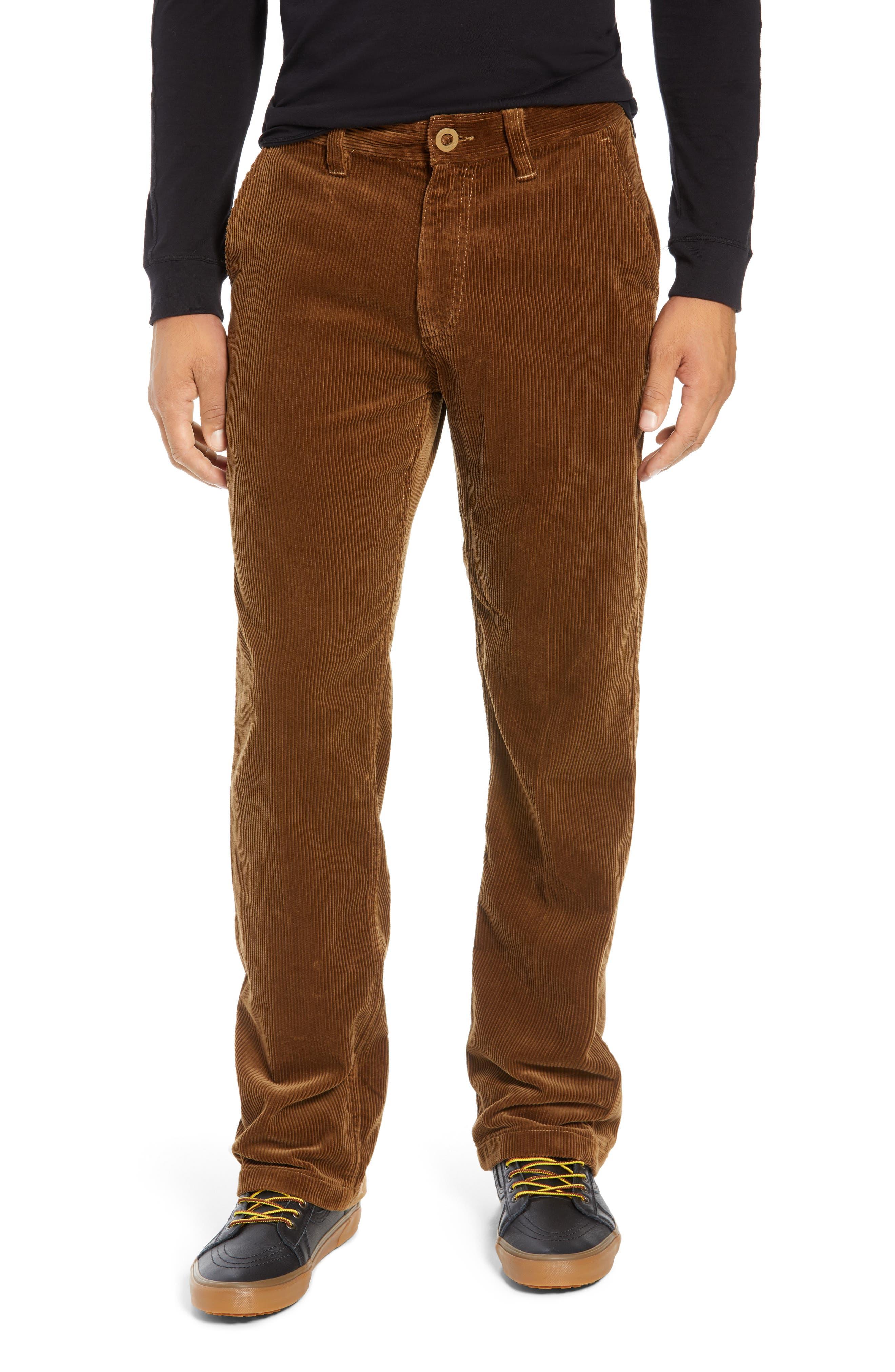 Fleet Rigid Chino Corduroy Pants,                         Main,                         color, SIERRA