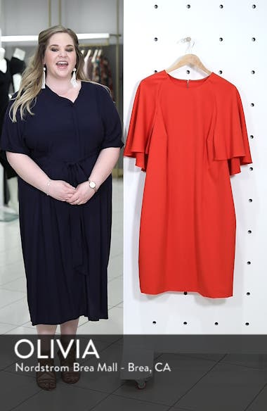 Cape Sheath Dress, sales video thumbnail