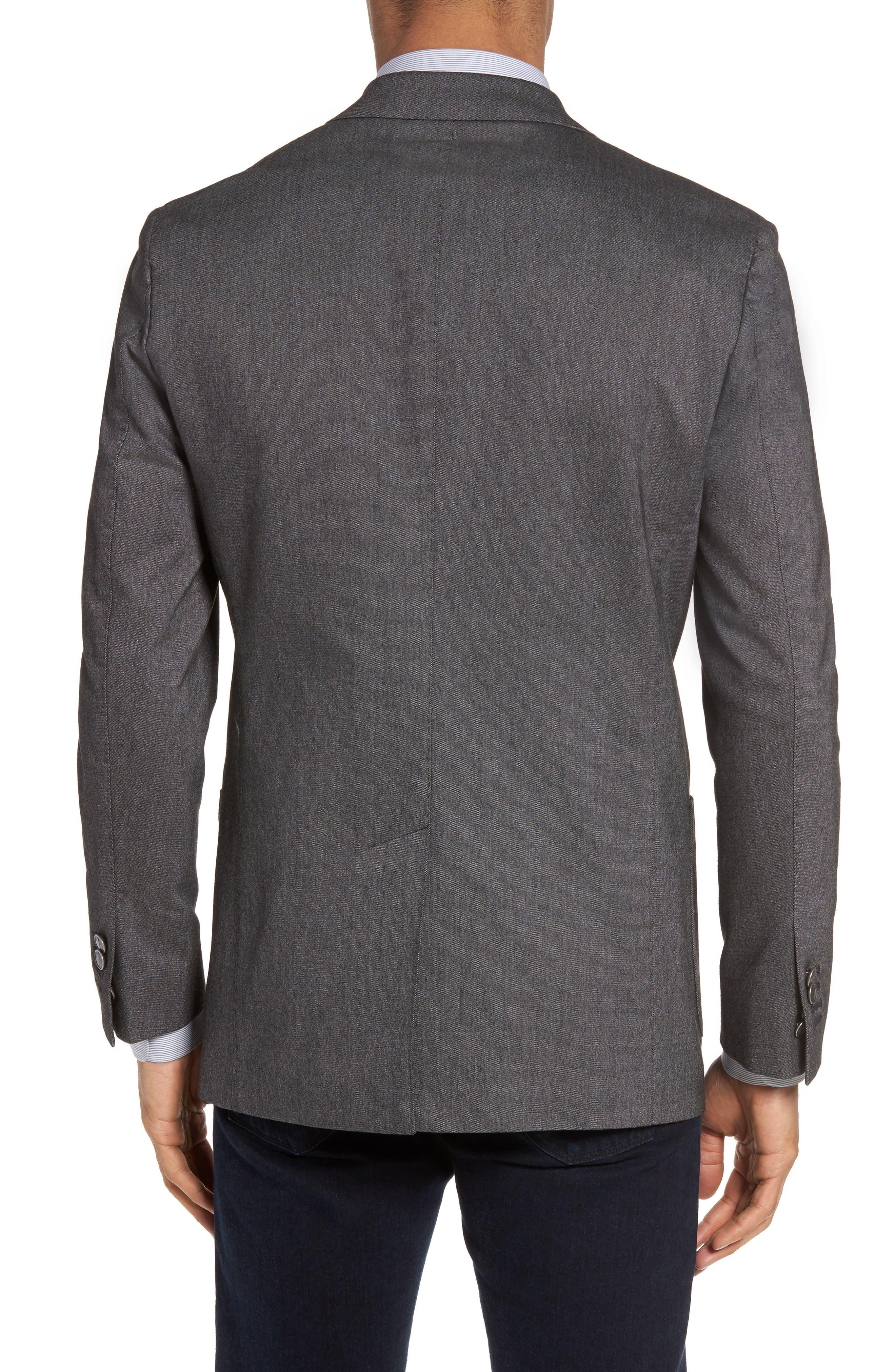 Classic Fit Birdseye Wool Sport Coat,                             Alternate thumbnail 2, color,                             020