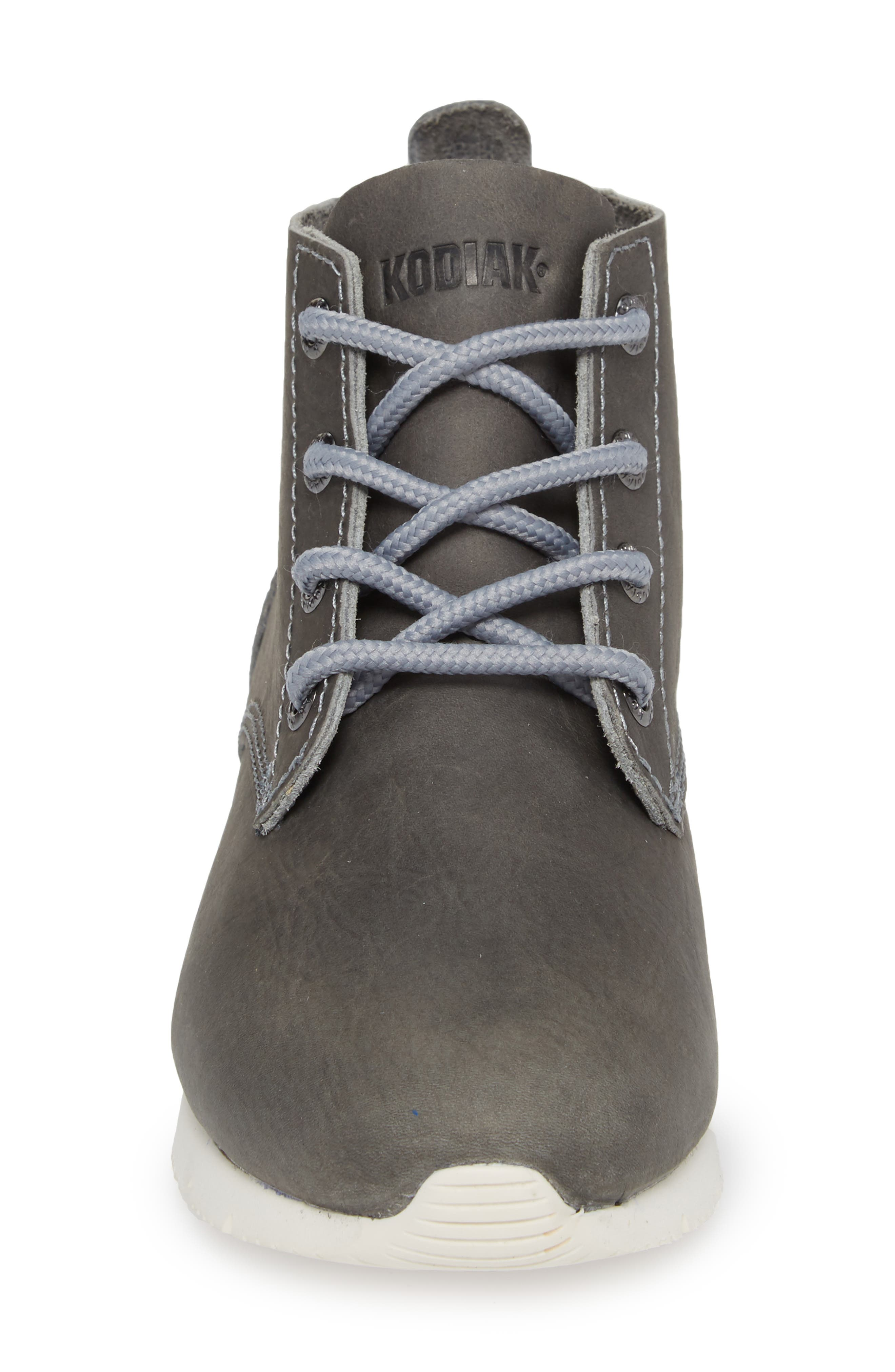 Chukka Boot,                             Alternate thumbnail 4, color,                             GREY LEATHER
