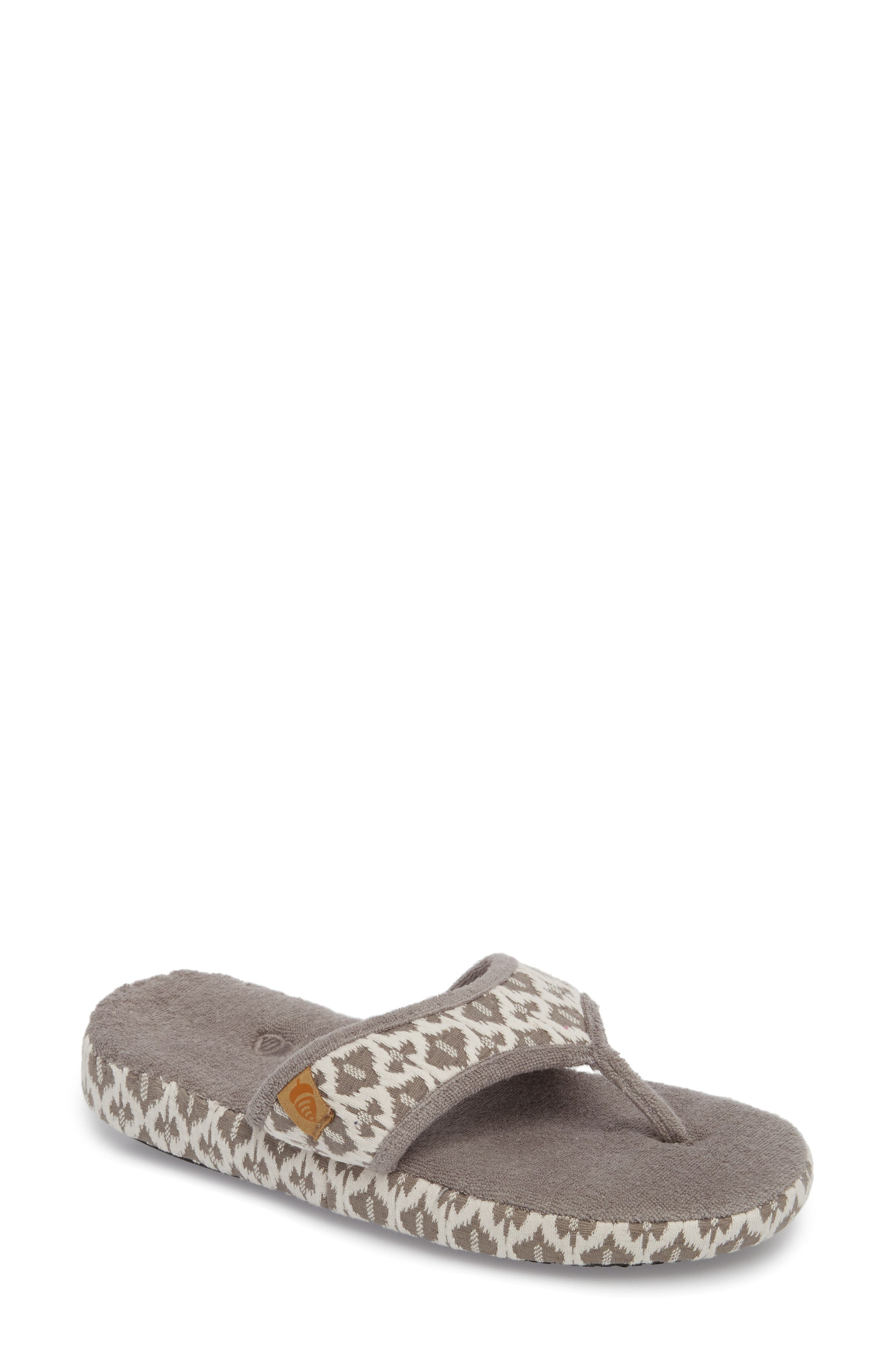 'Summerweight' Slipper,                             Main thumbnail 1, color,                             ASH TRIBAL