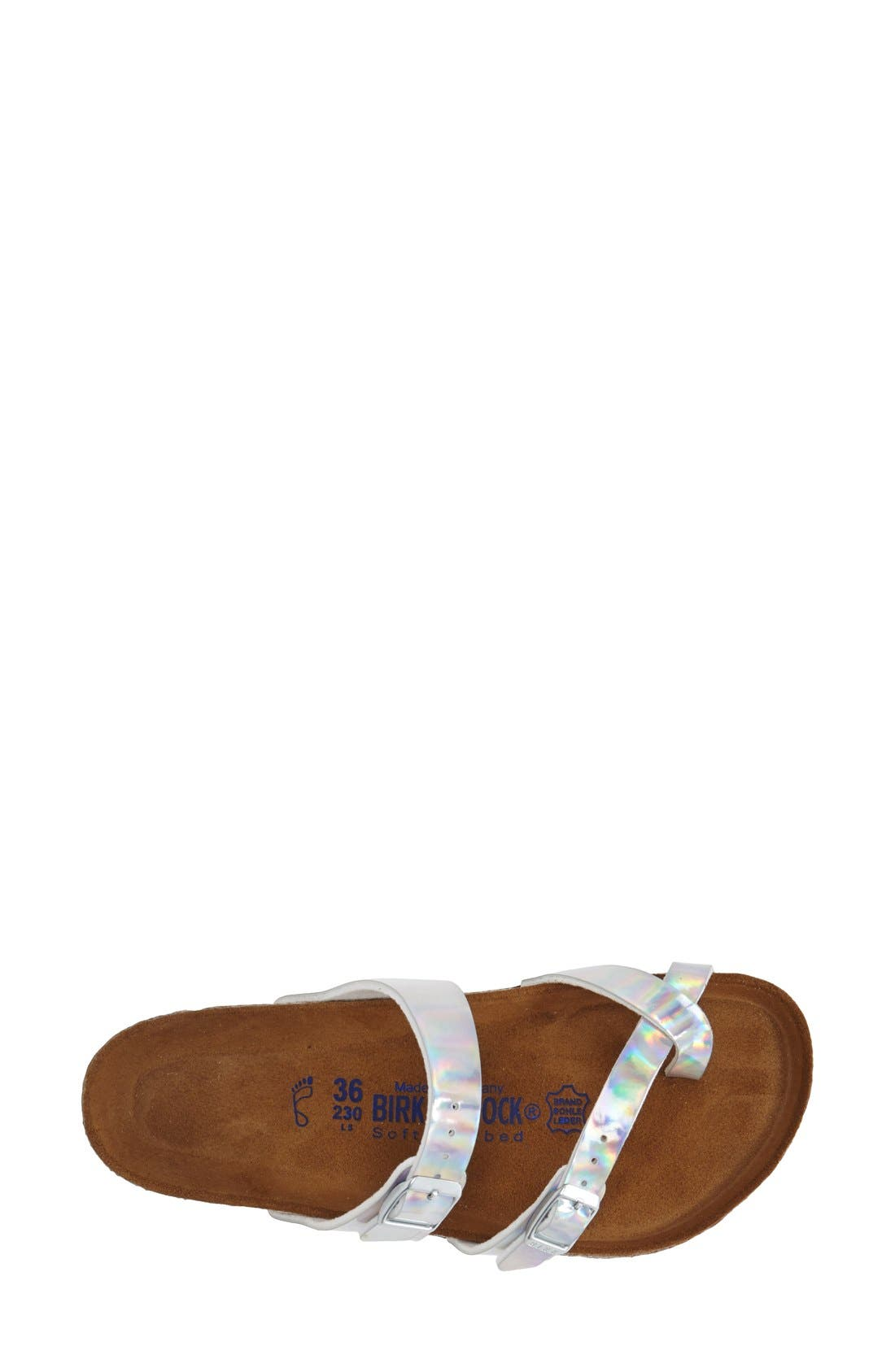 'Mayari' Birko-Flor<sup>™</sup> Sandal,                             Alternate thumbnail 3, color,                             040