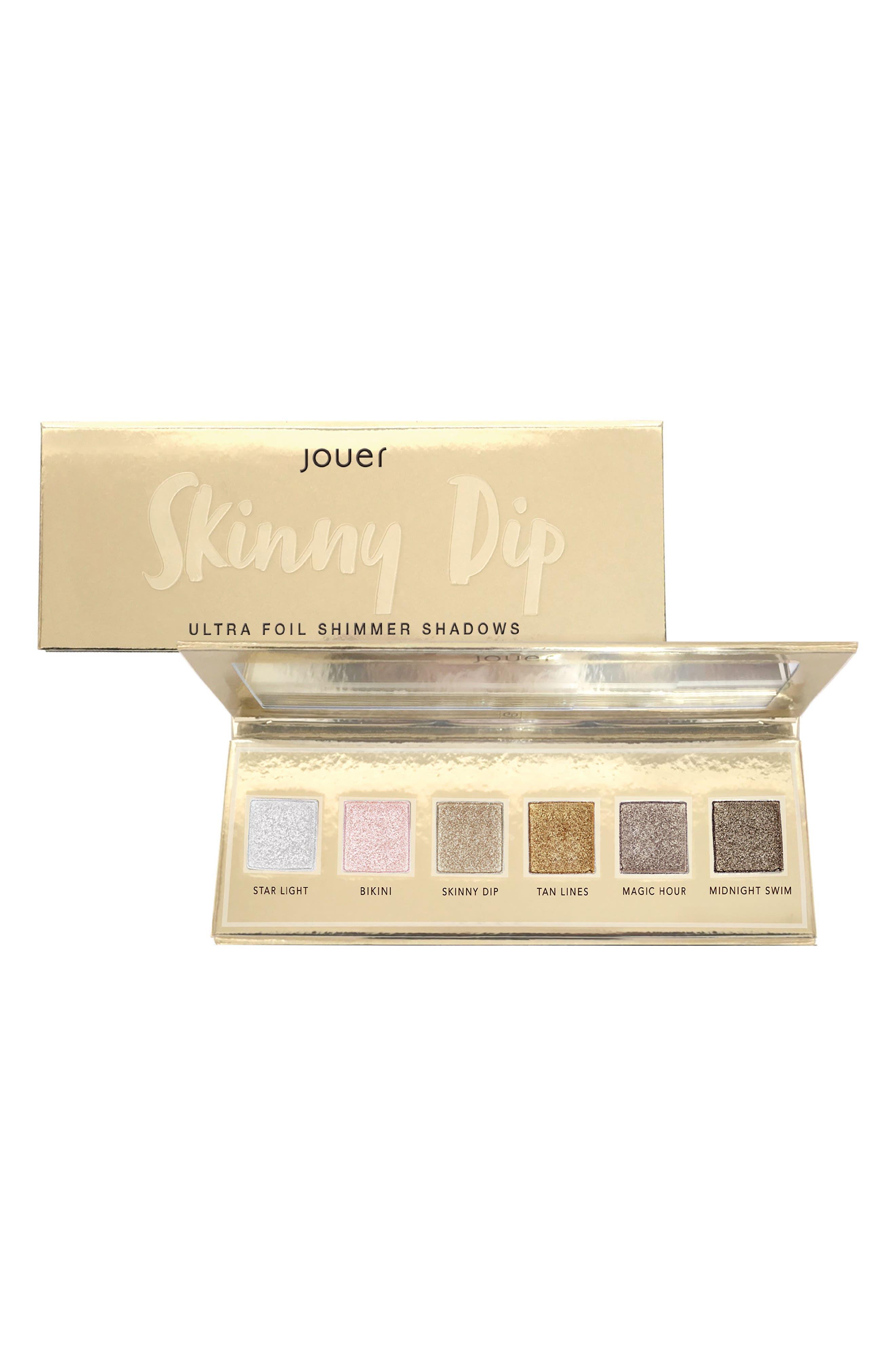 Skinny Dip Ultra Foil Shimmer Shadows Palette,                             Main thumbnail 1, color,                             NO COLOR