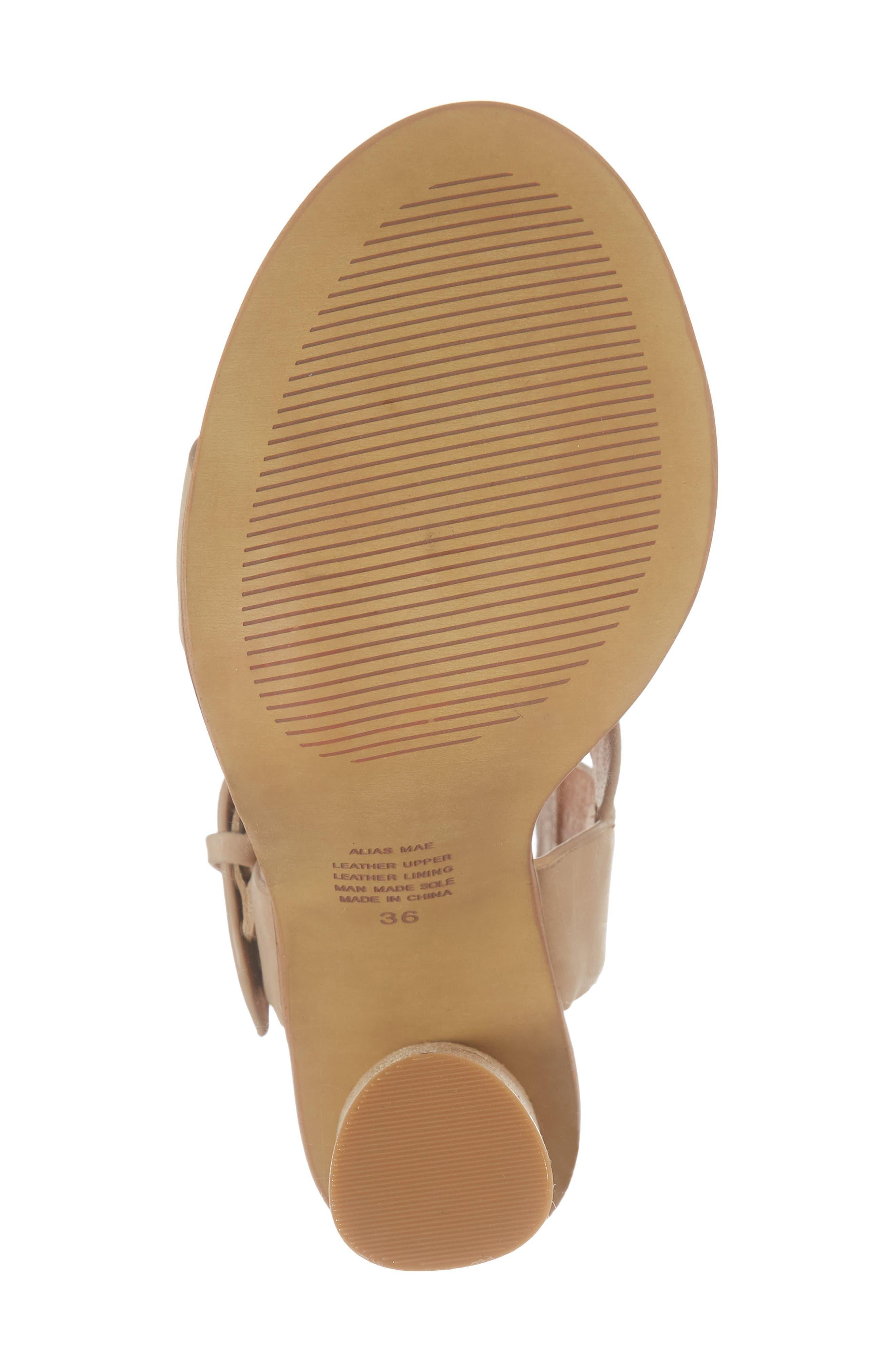 Abeba Block Heel Sandal,                             Alternate thumbnail 18, color,