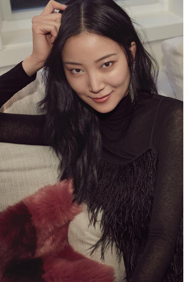 Portrait of Ishie Wang.