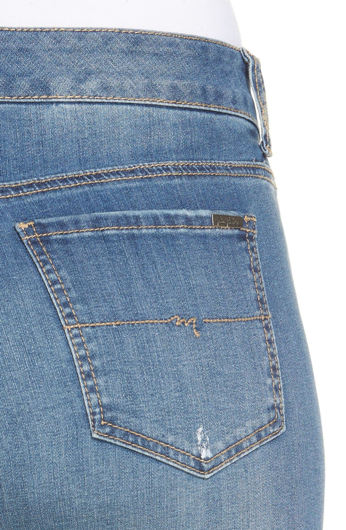 Stretch Crop Girlfriend Jeans,                             Alternate thumbnail 14, color,