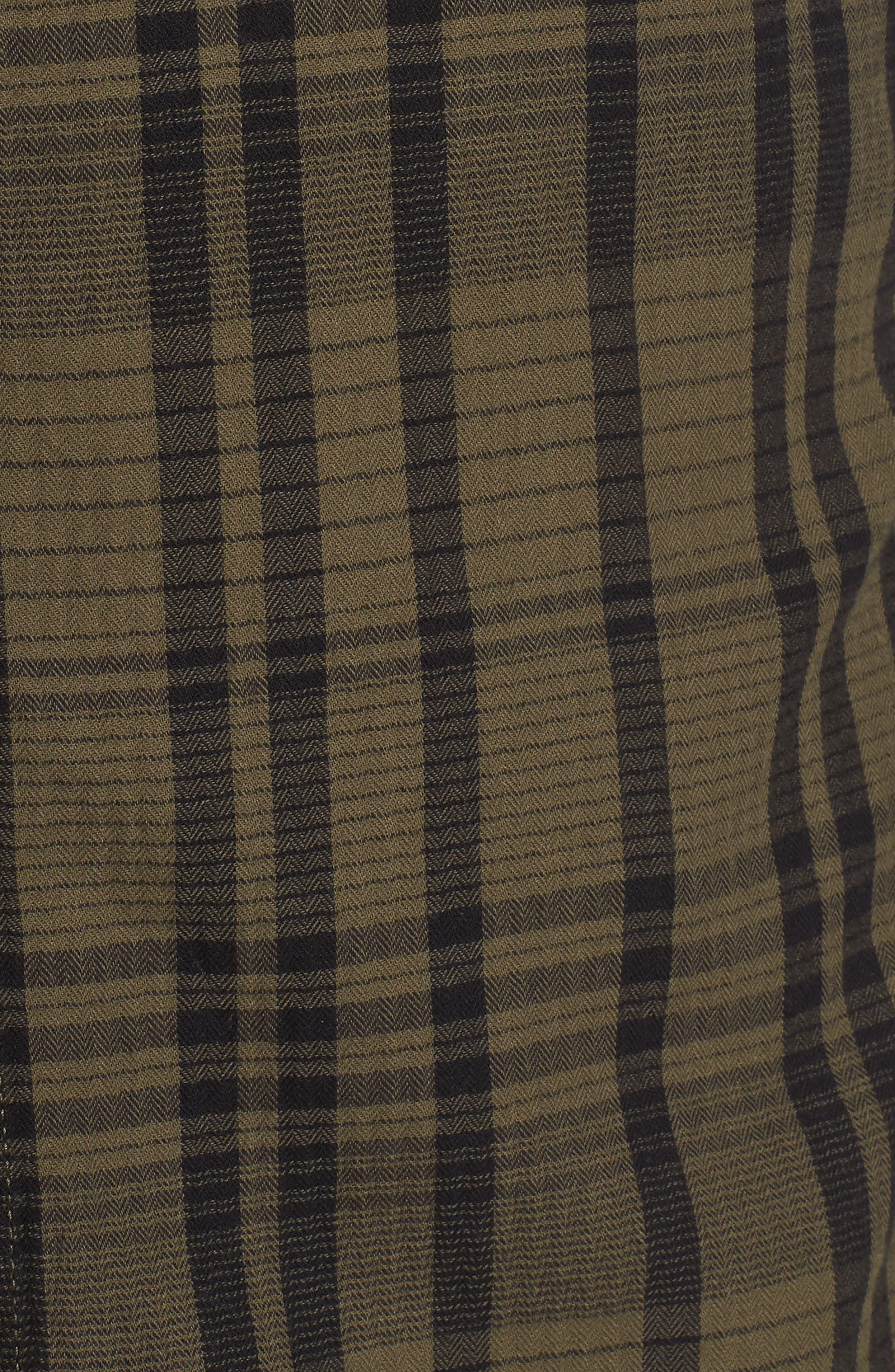 Hooper Plaid Sport Shirt,                             Alternate thumbnail 9, color,