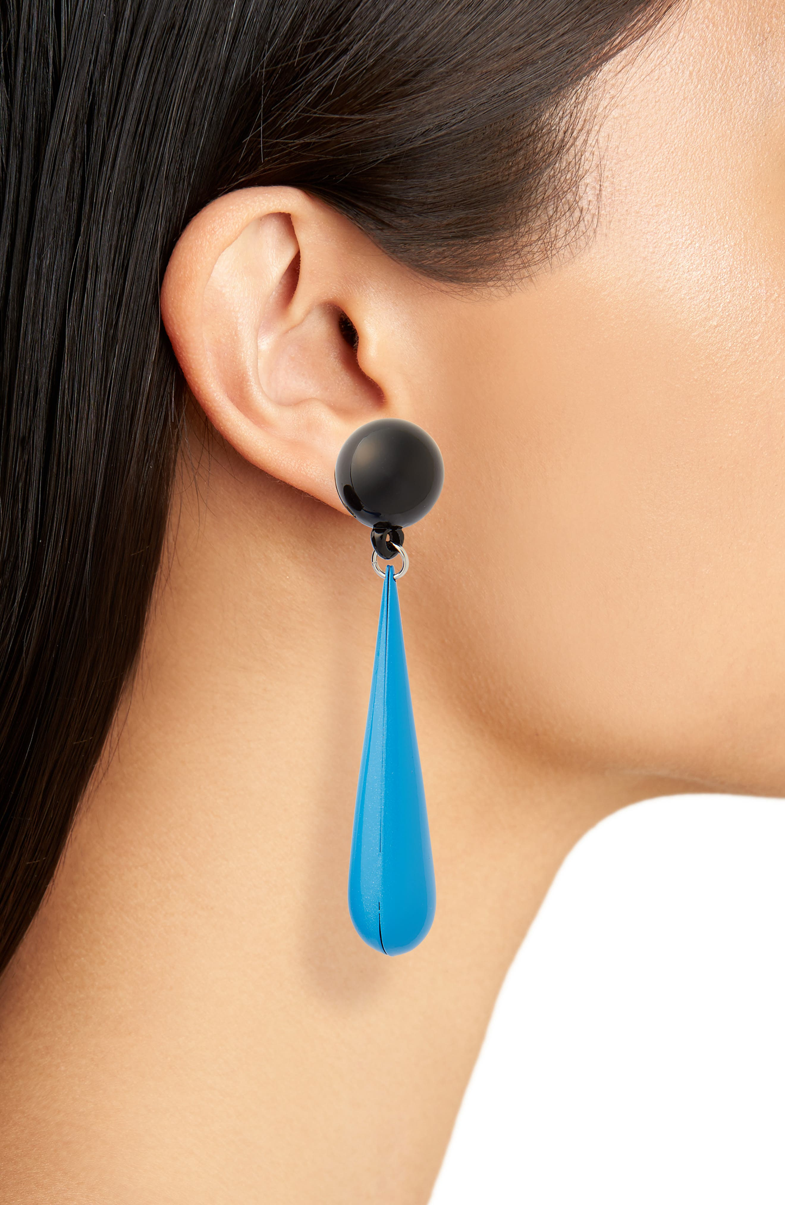 Motif Drop Earrings,                             Alternate thumbnail 2, color,