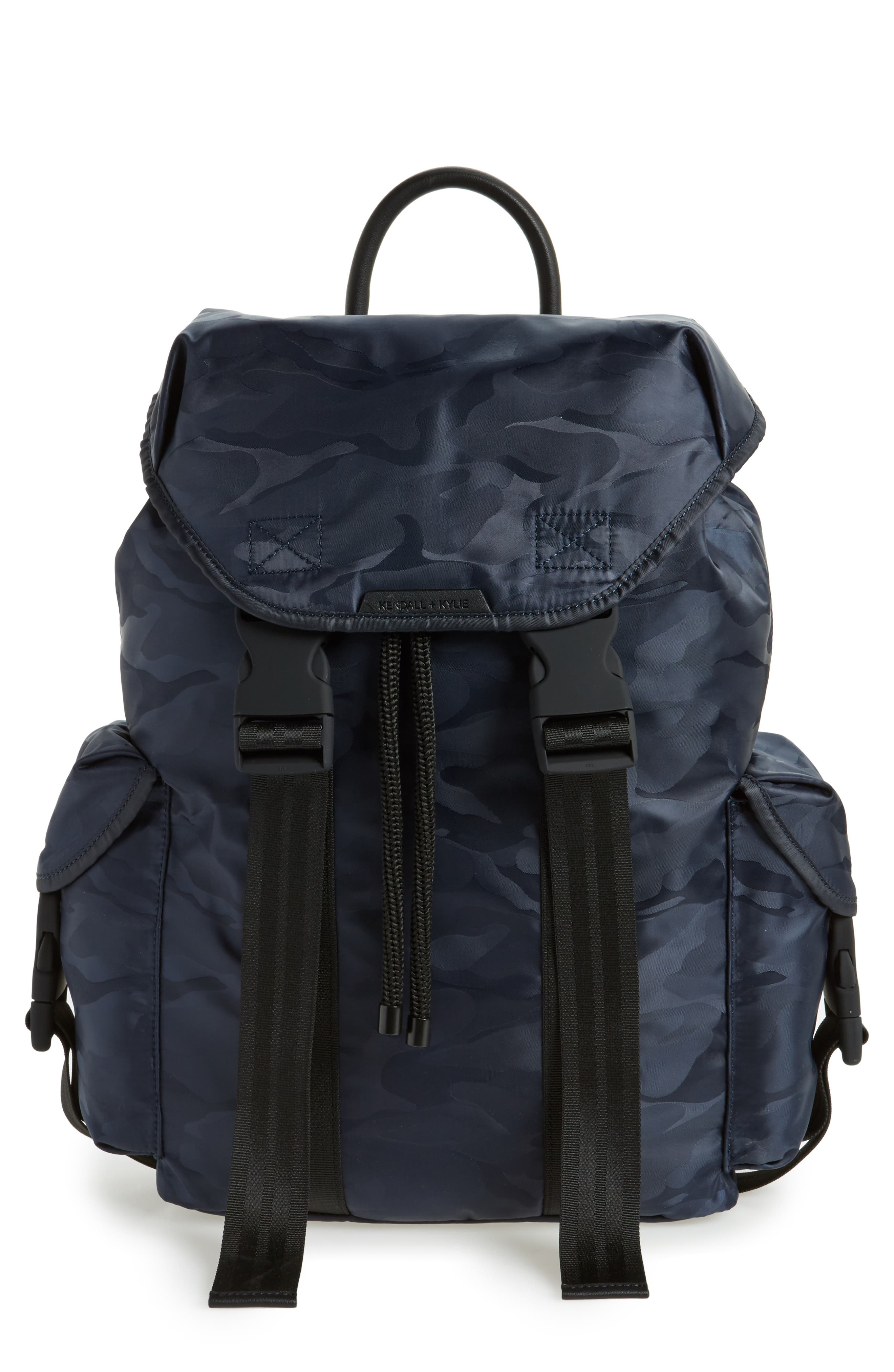 Jordyn Nylon Backpack,                             Main thumbnail 3, color,