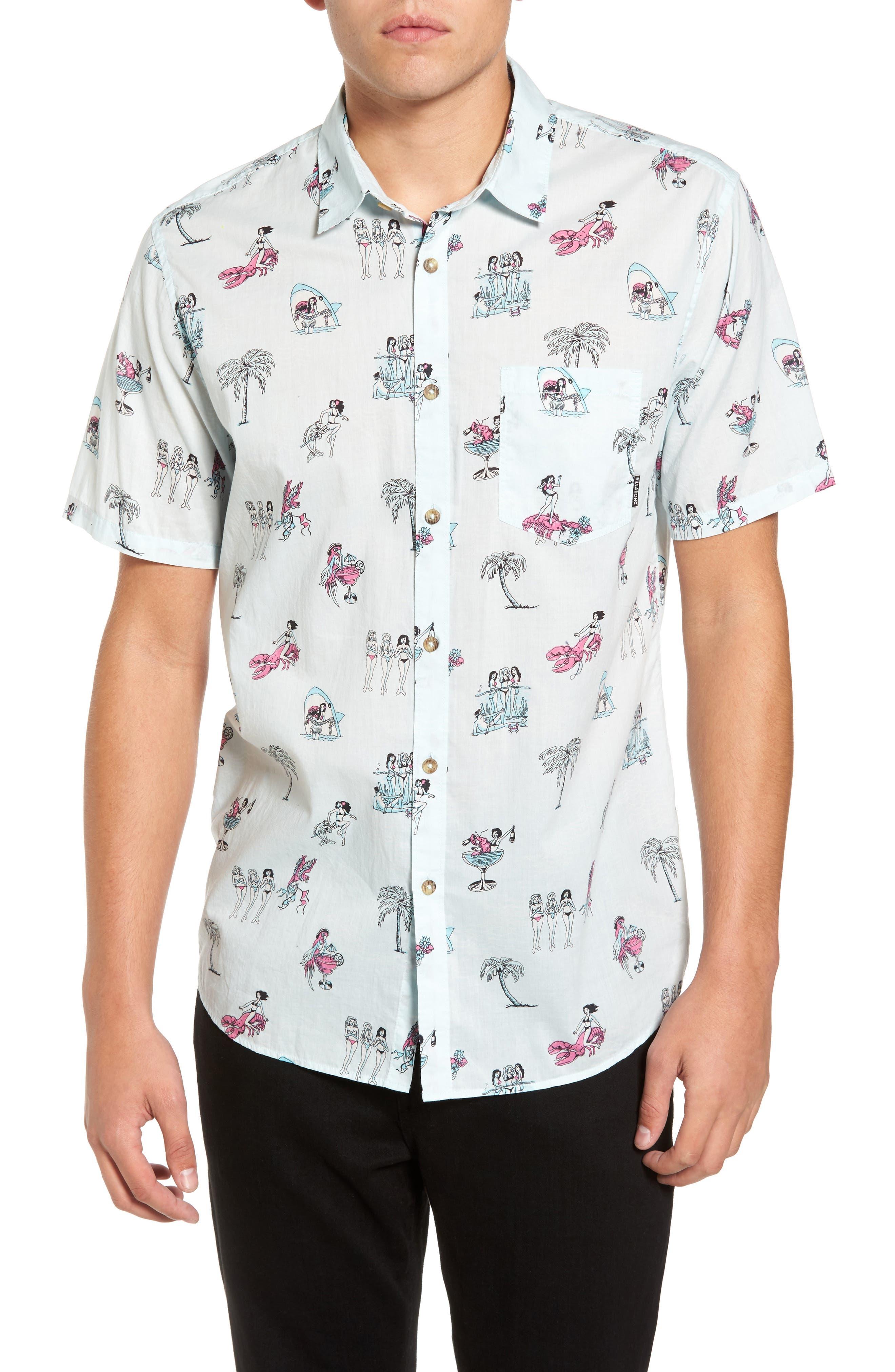 Sundays Woven Shirt,                         Main,                         color, 400