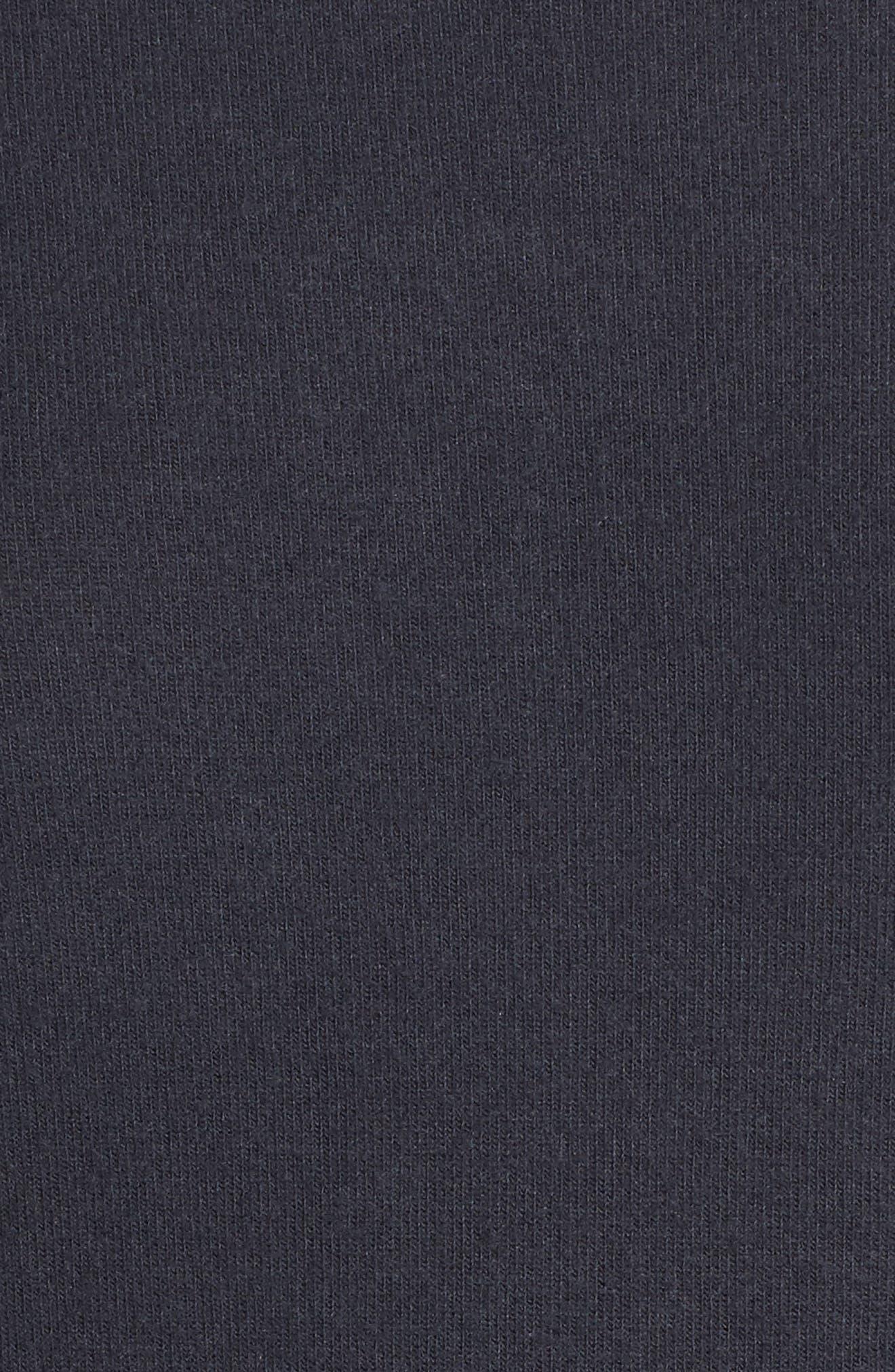 Peachy Jersey Ringer Top,                             Alternate thumbnail 5, color,                             030