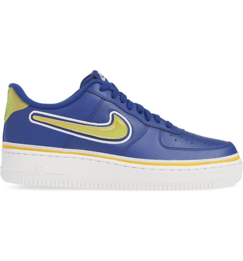 Nike Uomo'S Air Force 1 '07 Lv8 Sport Casual Casual Sport scarpe, blu   ModeSens 1fbc58