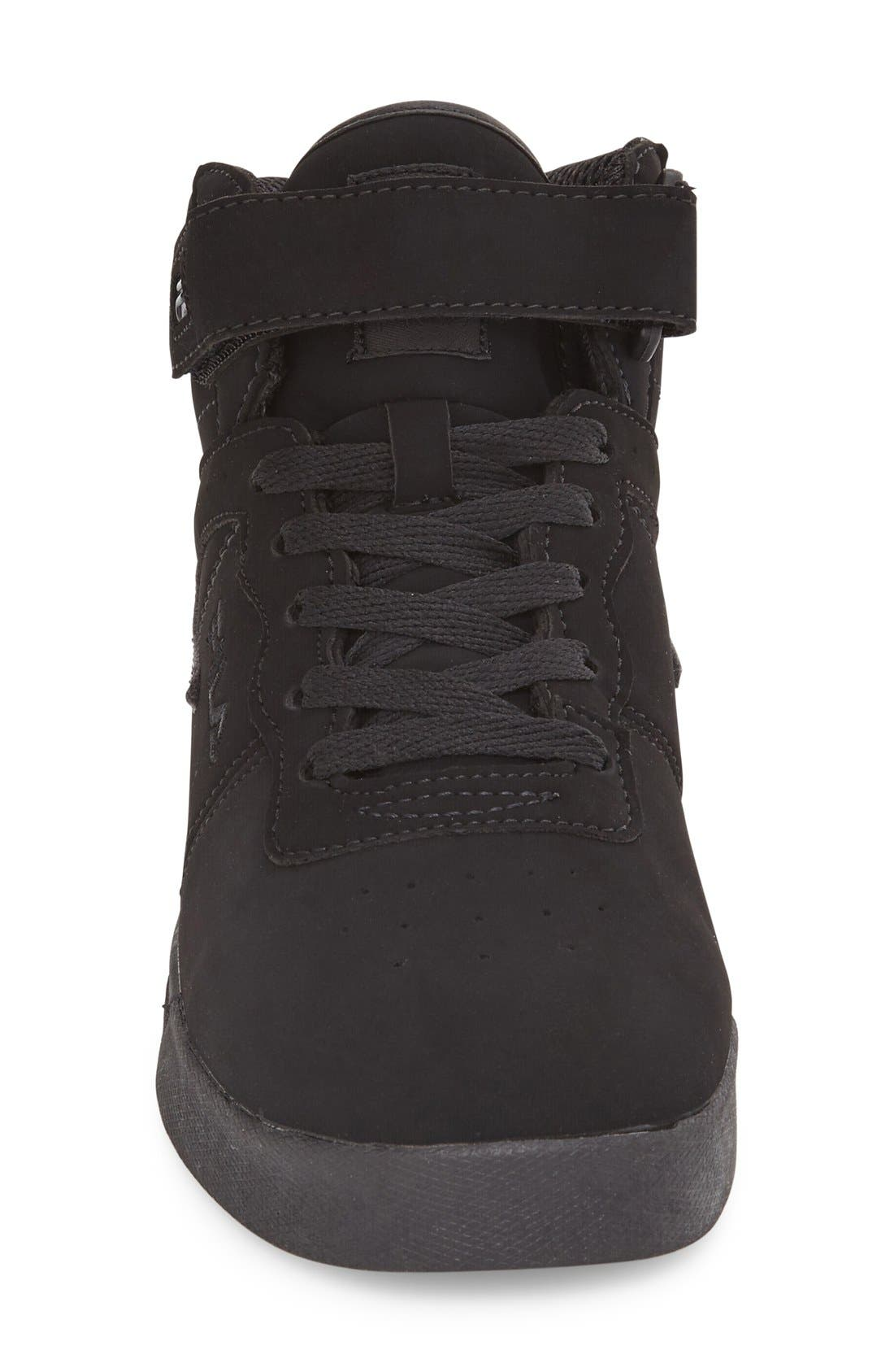Vulc 13 High Top Sneaker,                             Alternate thumbnail 3, color,                             001
