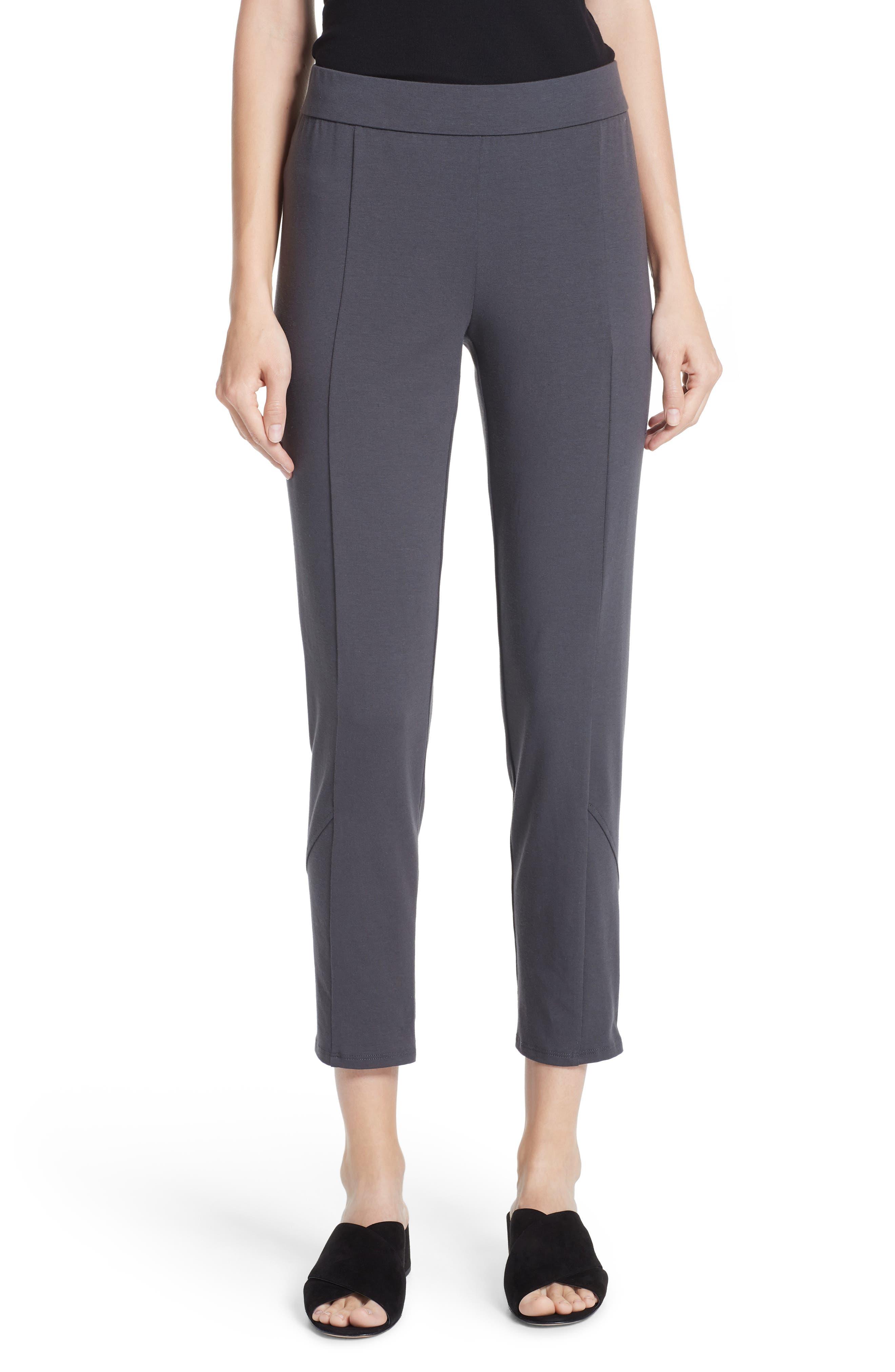 Slim Stretch Cotton Pants,                             Main thumbnail 1, color,