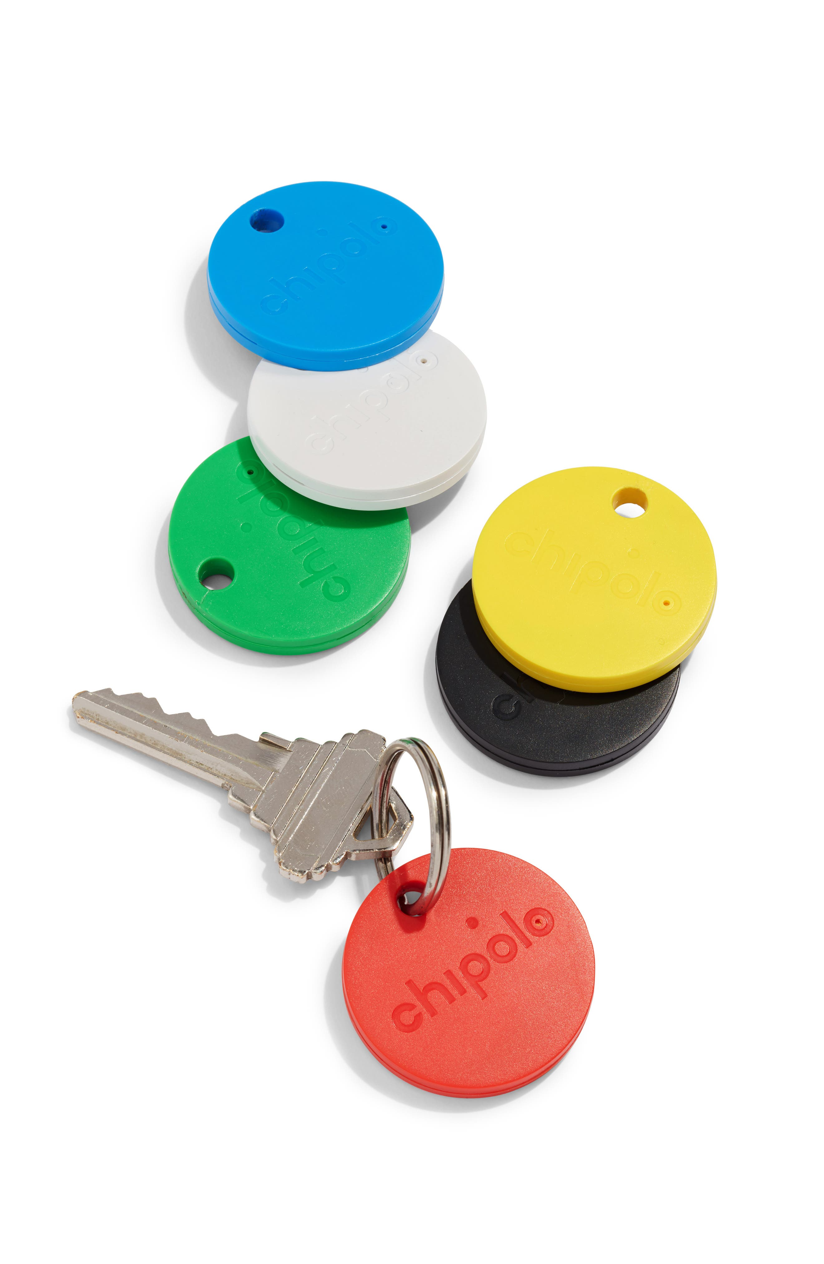 Soda Says x Chipolo Classic 2.0 Bluetooth Tracker,                             Alternate thumbnail 5, color,                             RED