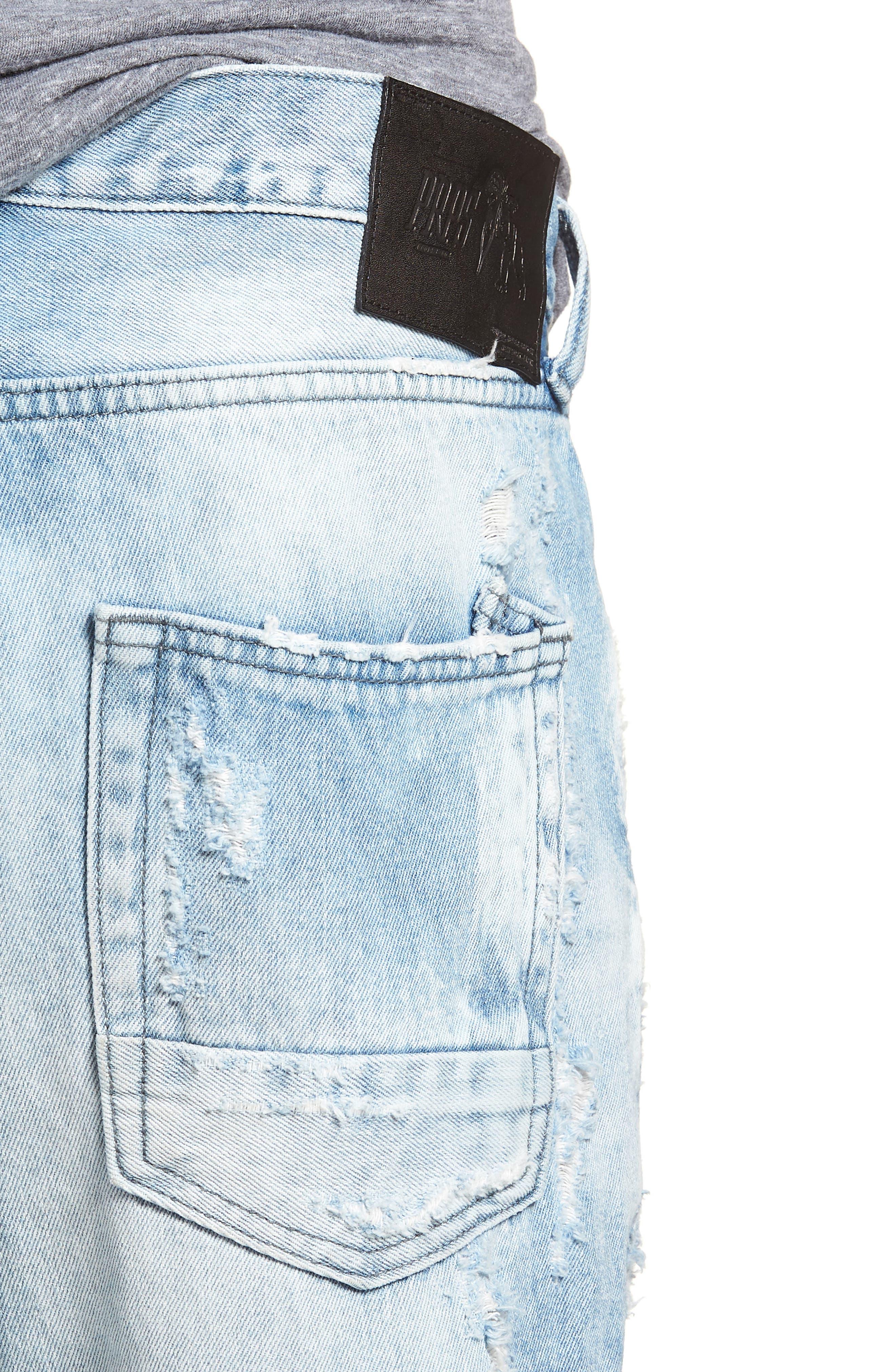 Le Sabre Slim Fit Jeans,                             Alternate thumbnail 4, color,                             454
