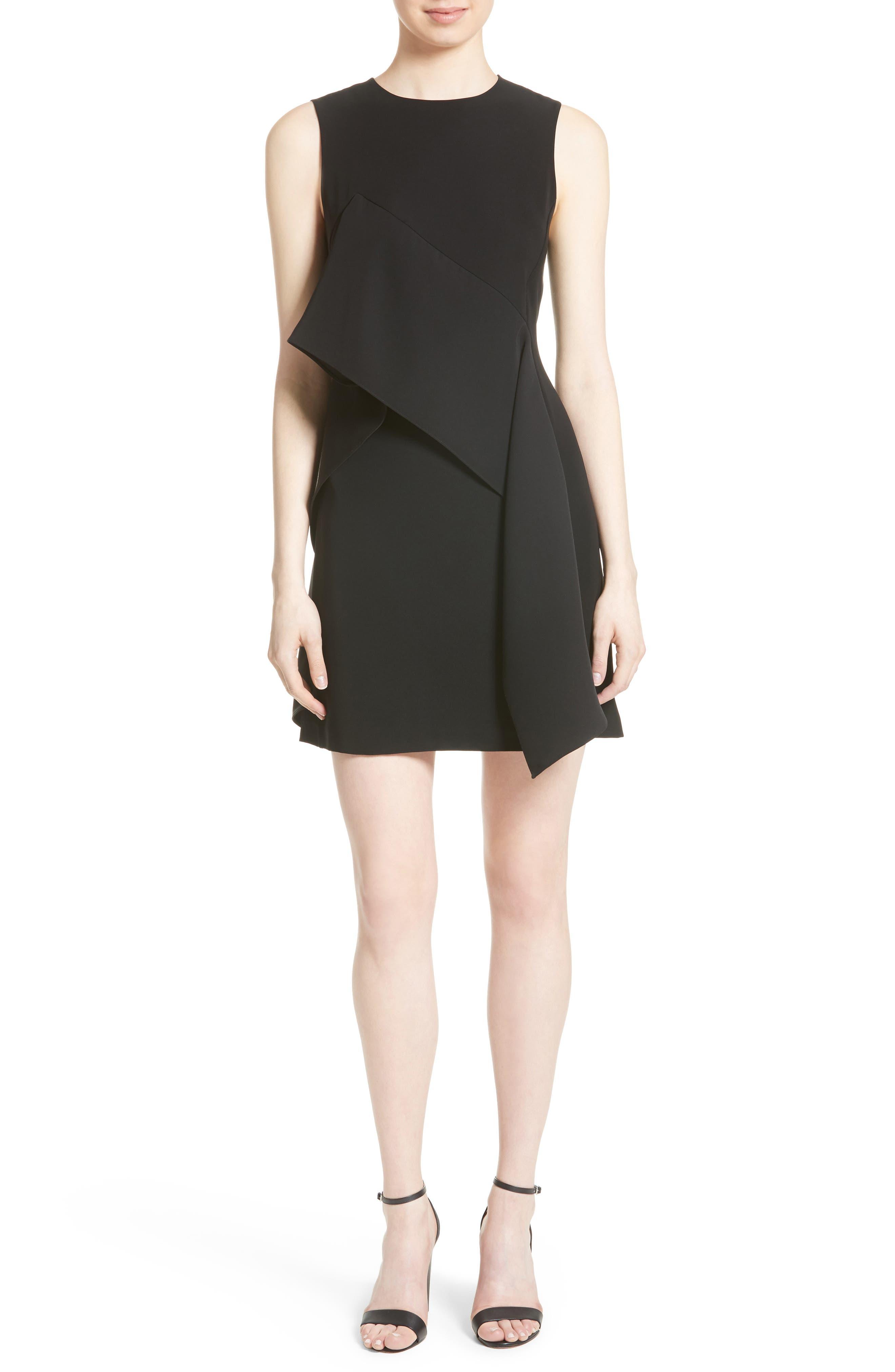 Ruffle Front Minidress,                         Main,                         color,