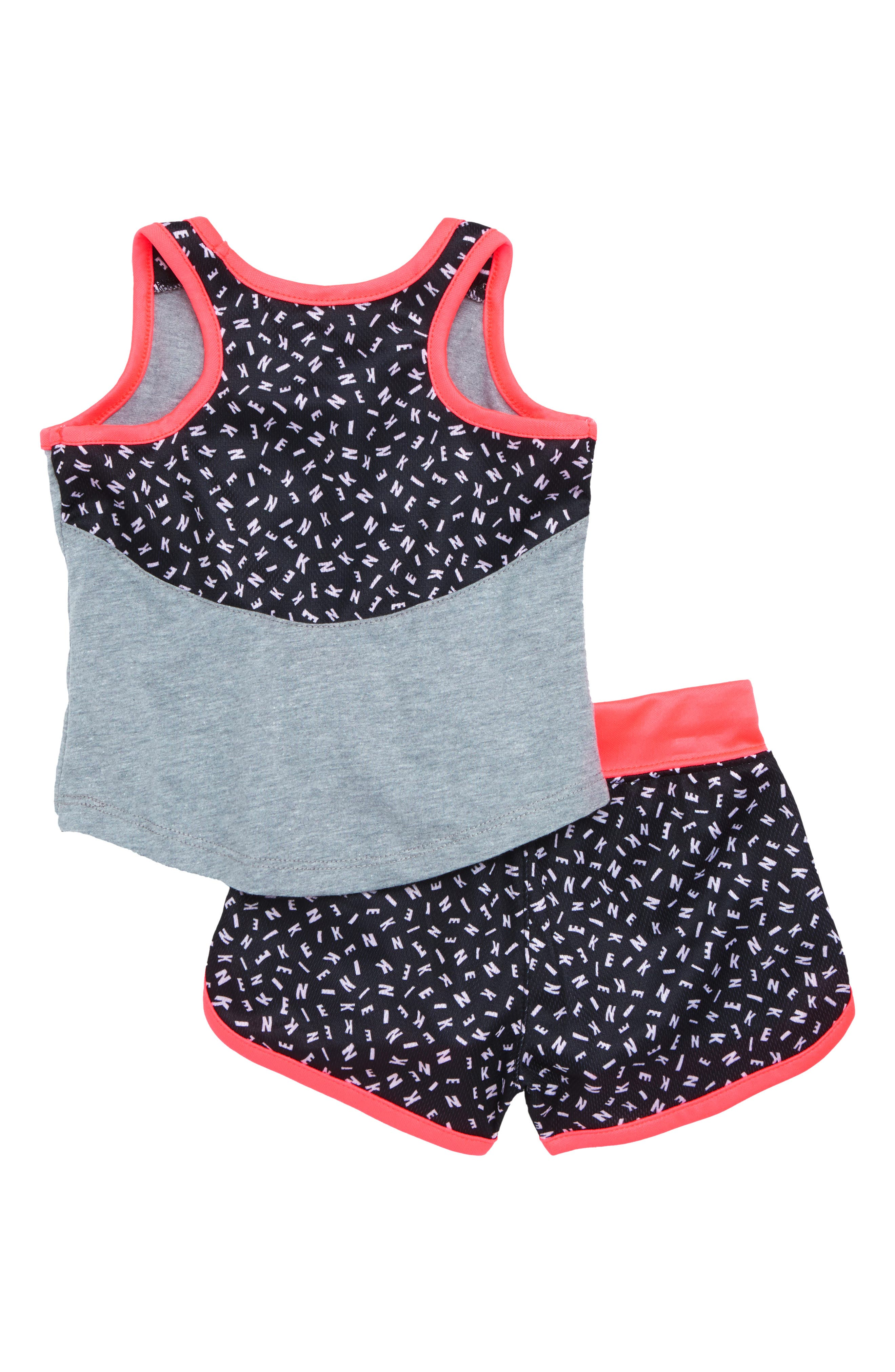 Just Dot It Tank & Shorts Set,                             Alternate thumbnail 2, color,