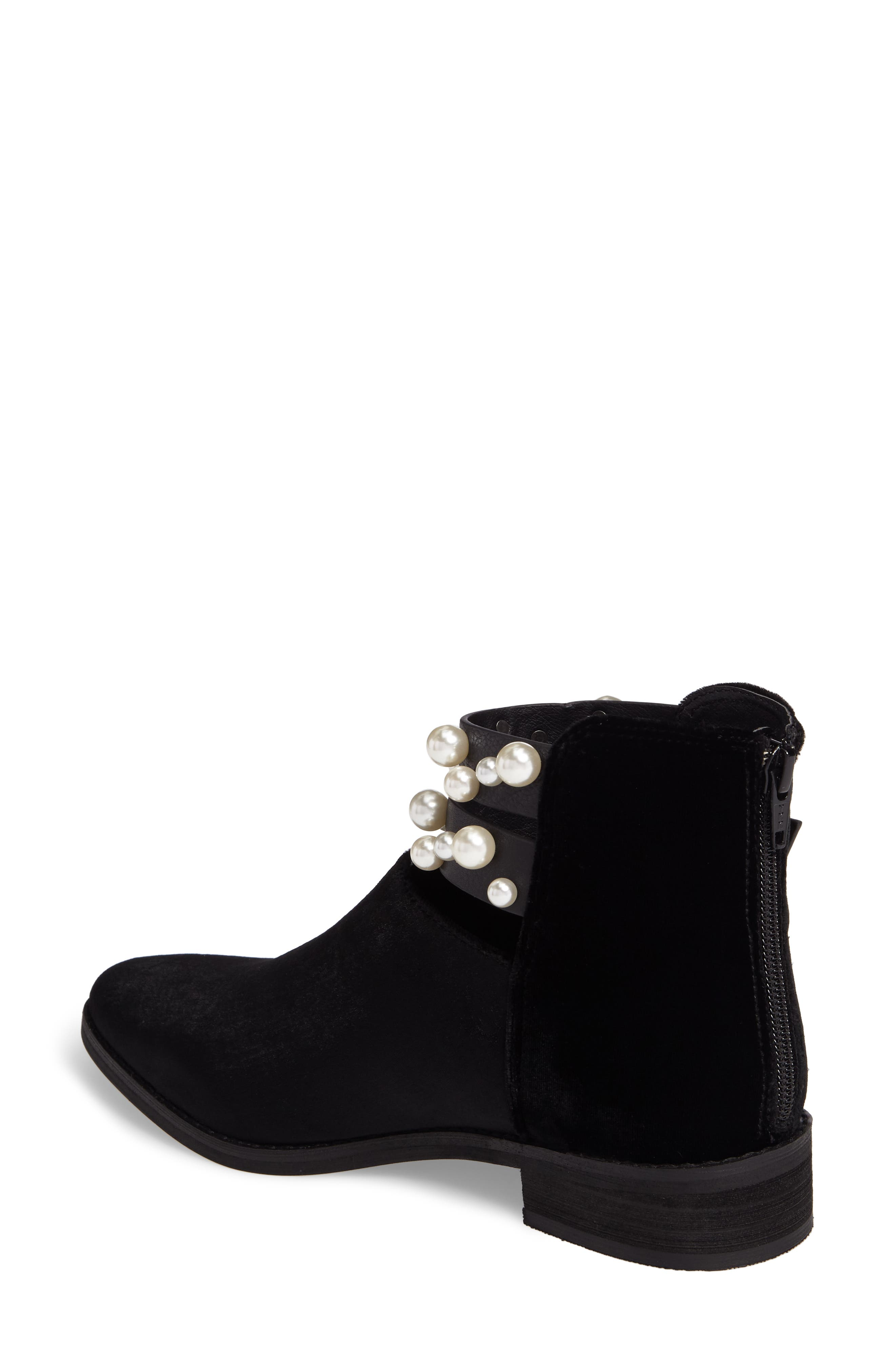 Maisie Embellished Bootie,                             Alternate thumbnail 2, color,                             001