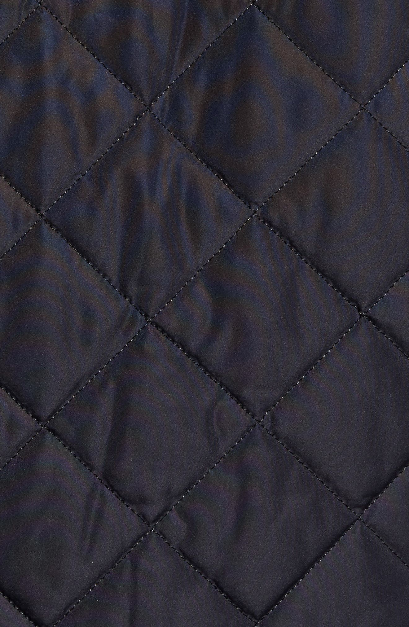 Devon Quilted Water-Resistant Jacket,                             Alternate thumbnail 6, color,                             410