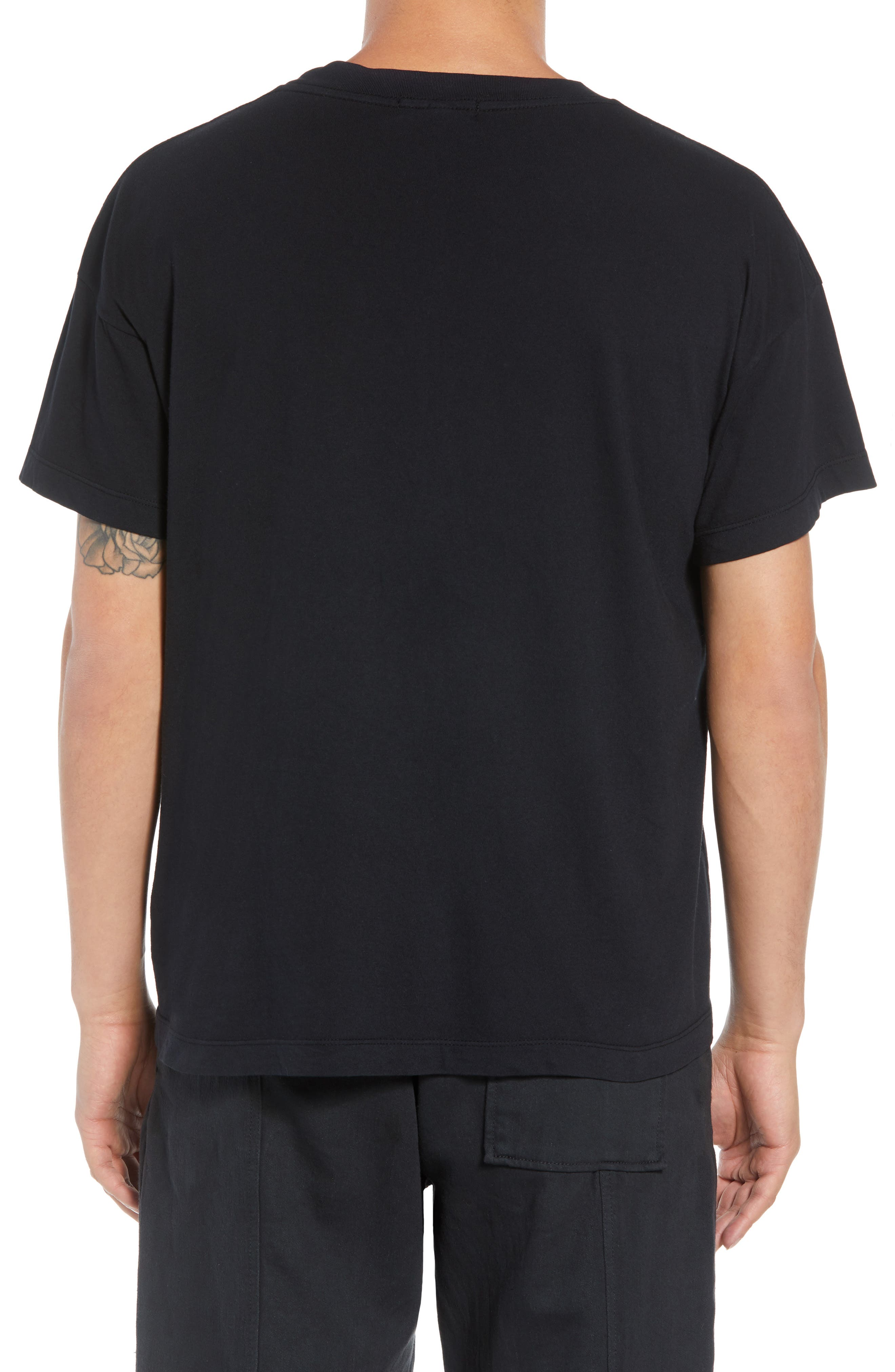Hayes T-Shirt,                             Alternate thumbnail 2, color,                             BLACK