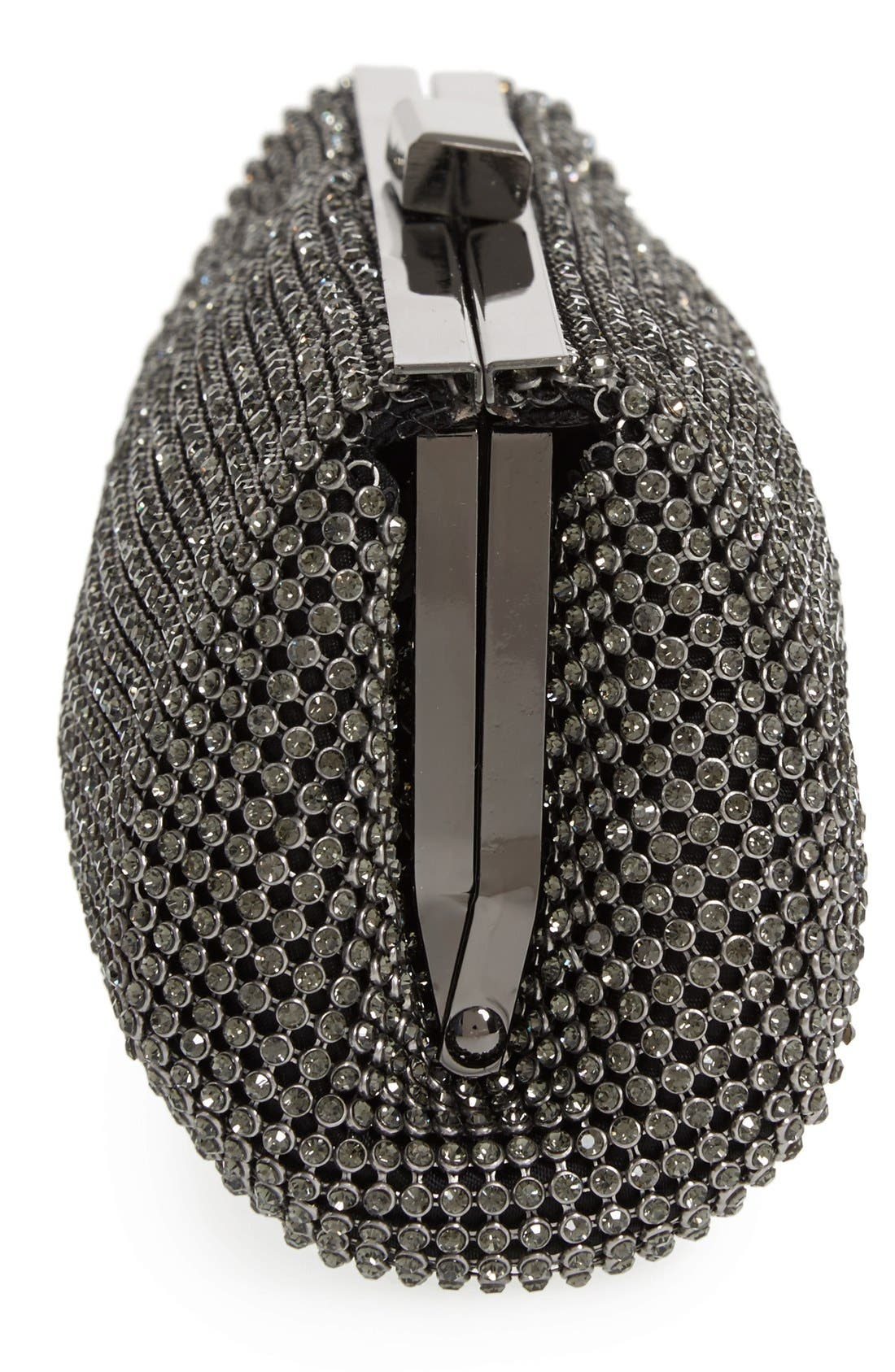 Crystal Mesh Clutch,                             Alternate thumbnail 12, color,