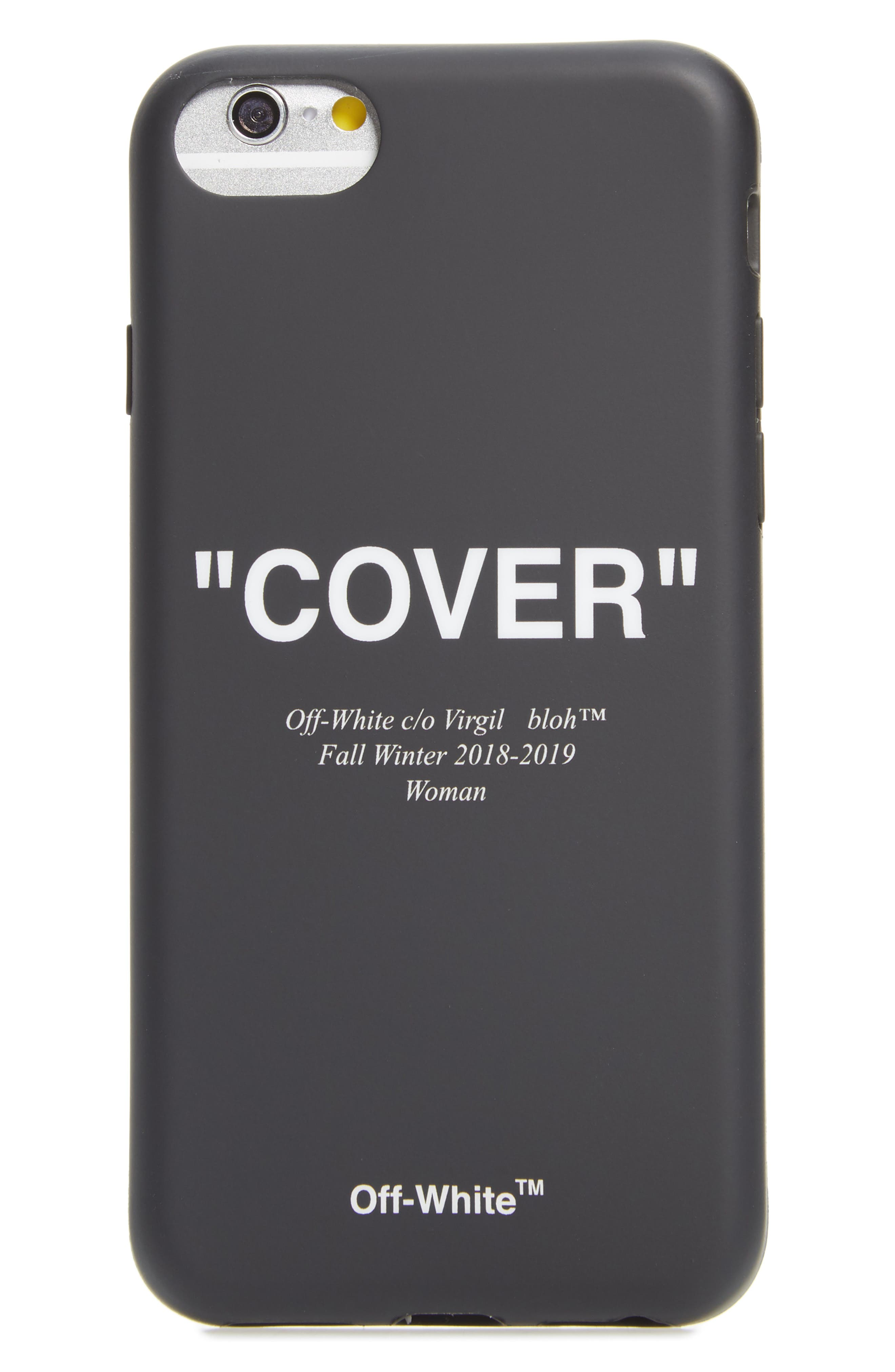 Quotes iPhone 8 Case,                             Main thumbnail 1, color,                             001