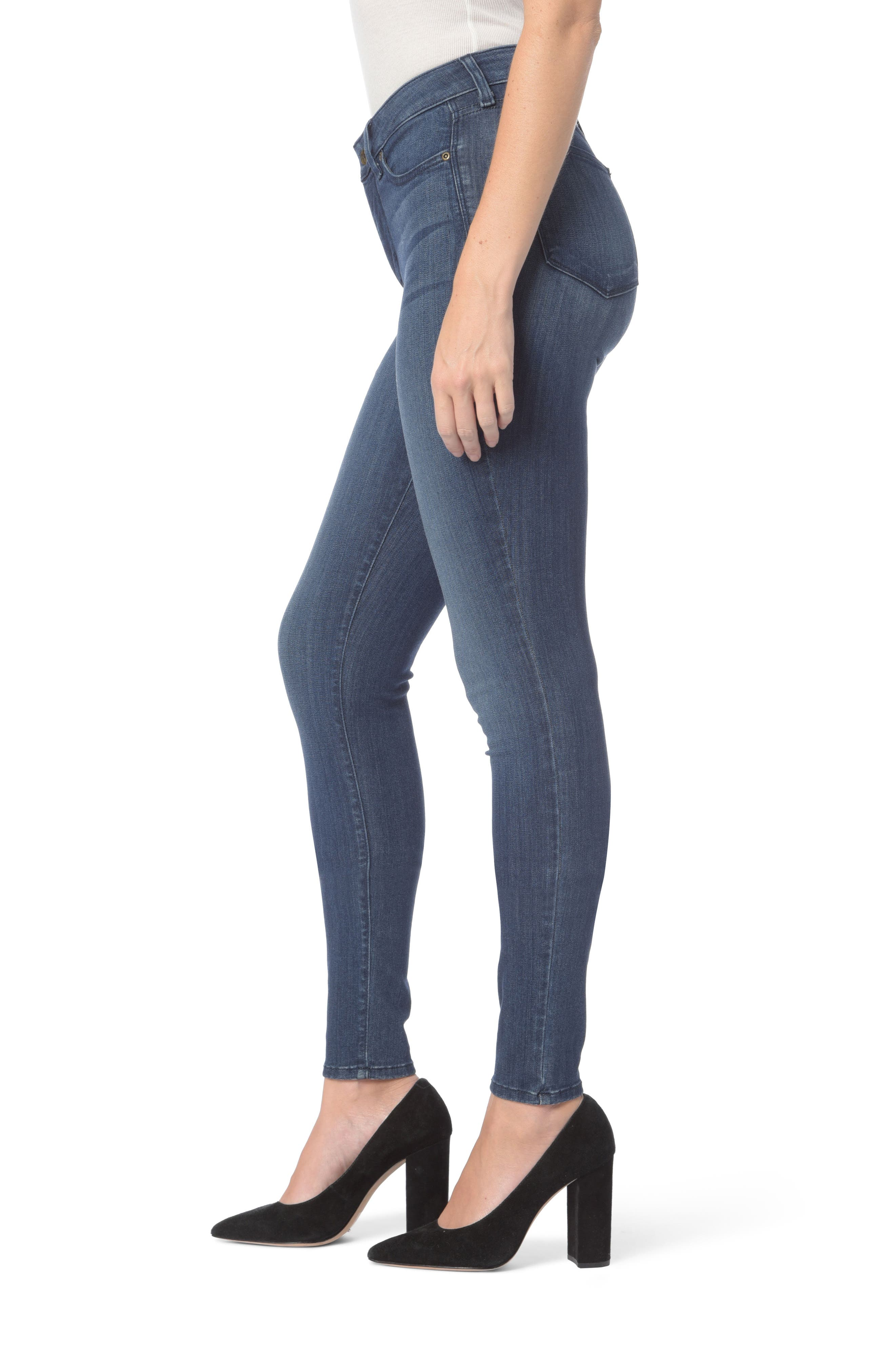 Ami Stretch Super Skinny Jeans,                             Alternate thumbnail 14, color,