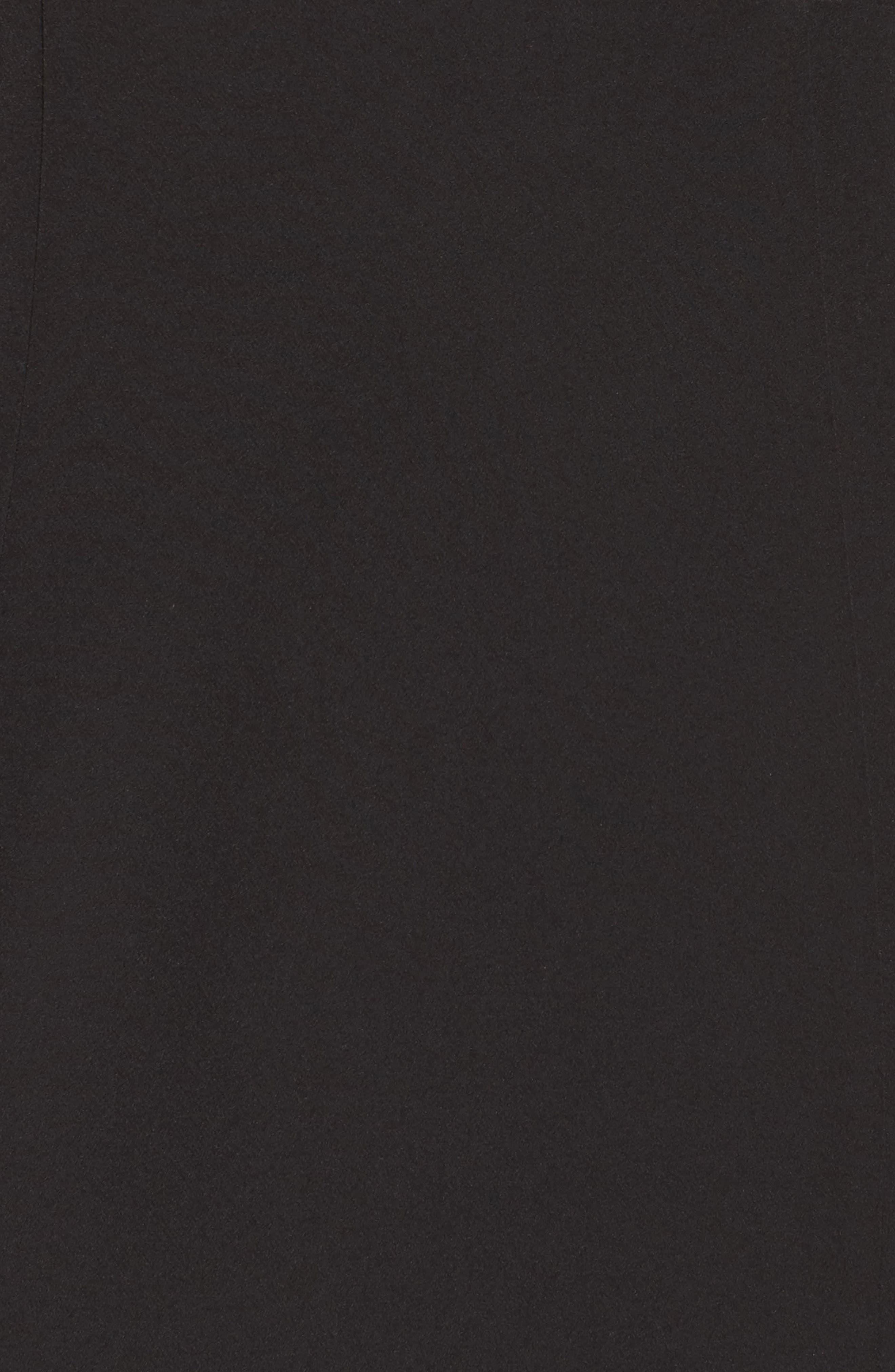 One-Shoulder Ruffle Sheath Dress,                             Alternate thumbnail 9, color,