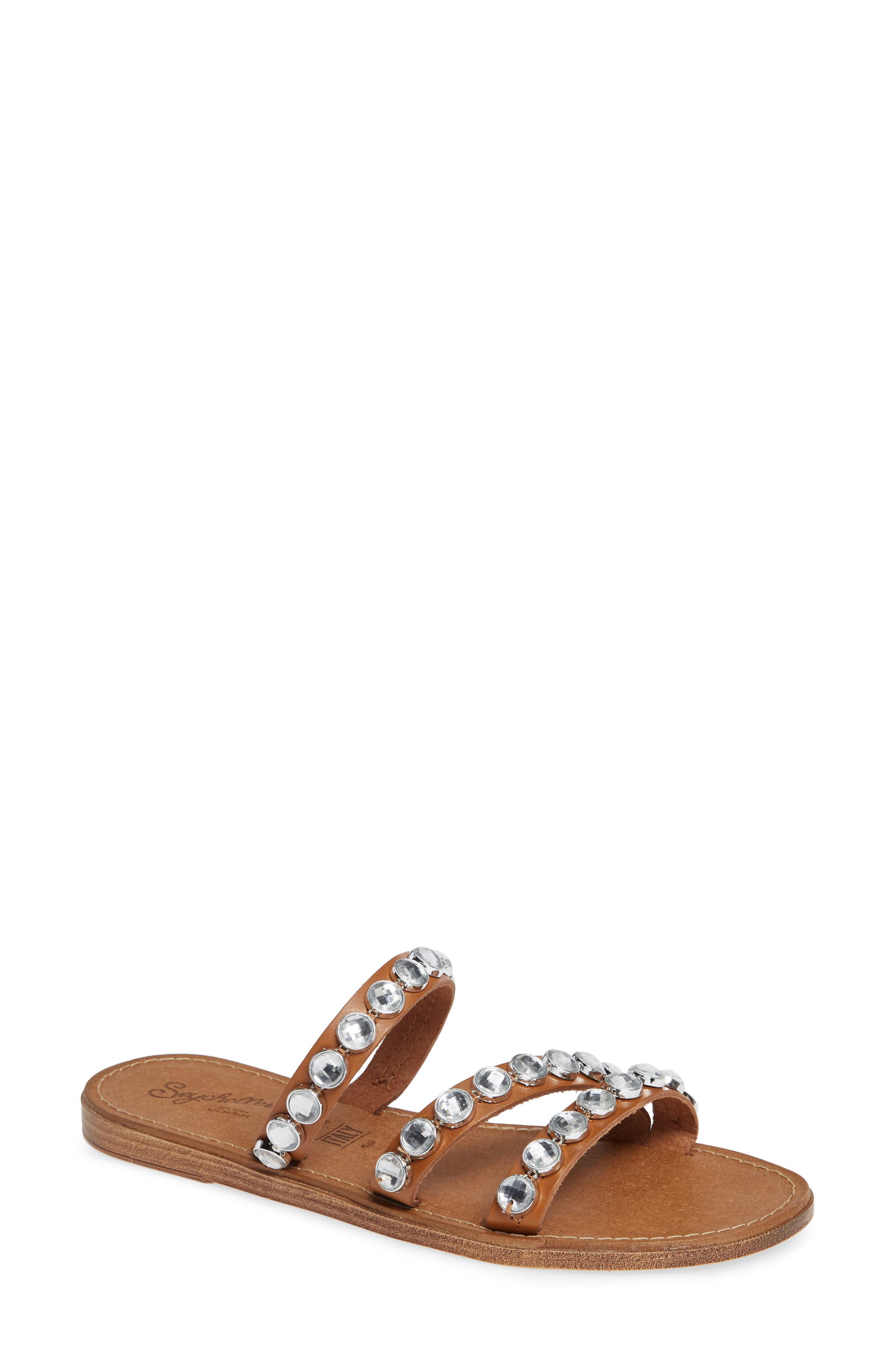 Stress Free Embellished Slide Sandal,                         Main,                         color, 200