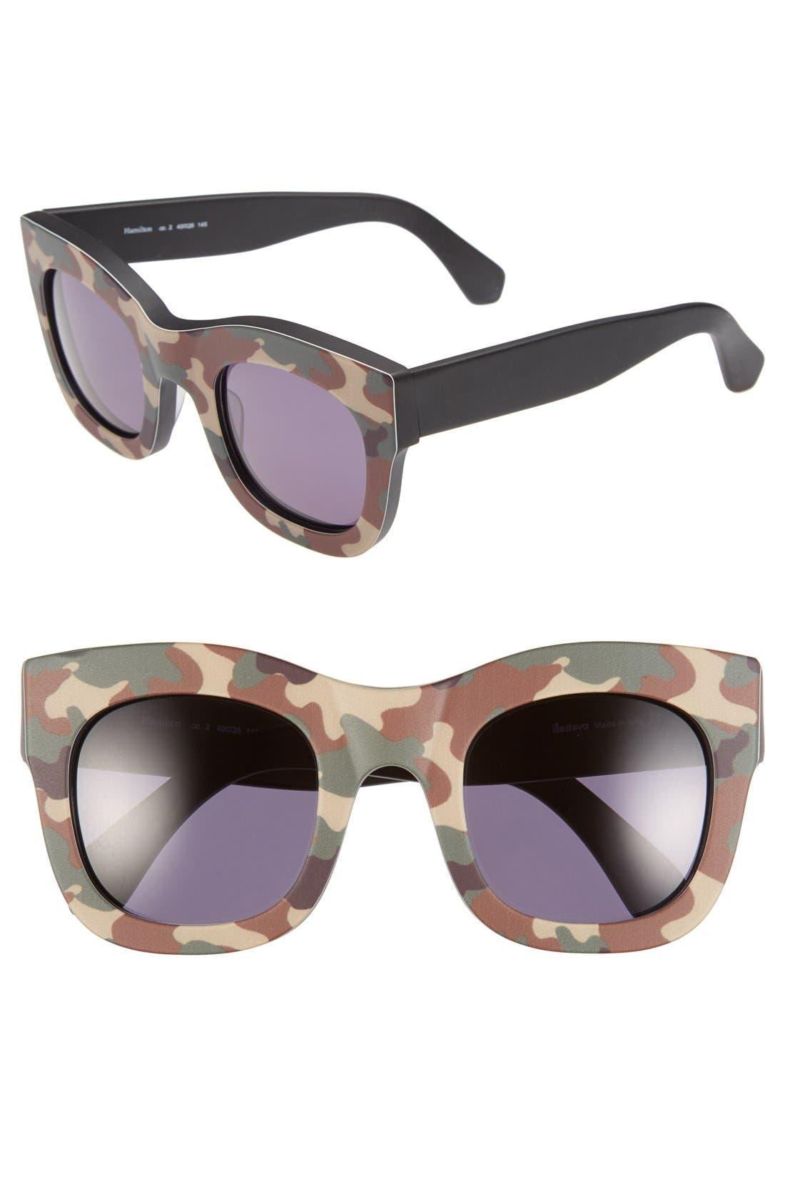 'Hamilton' 49mm Retro Sunglasses,                             Main thumbnail 9, color,