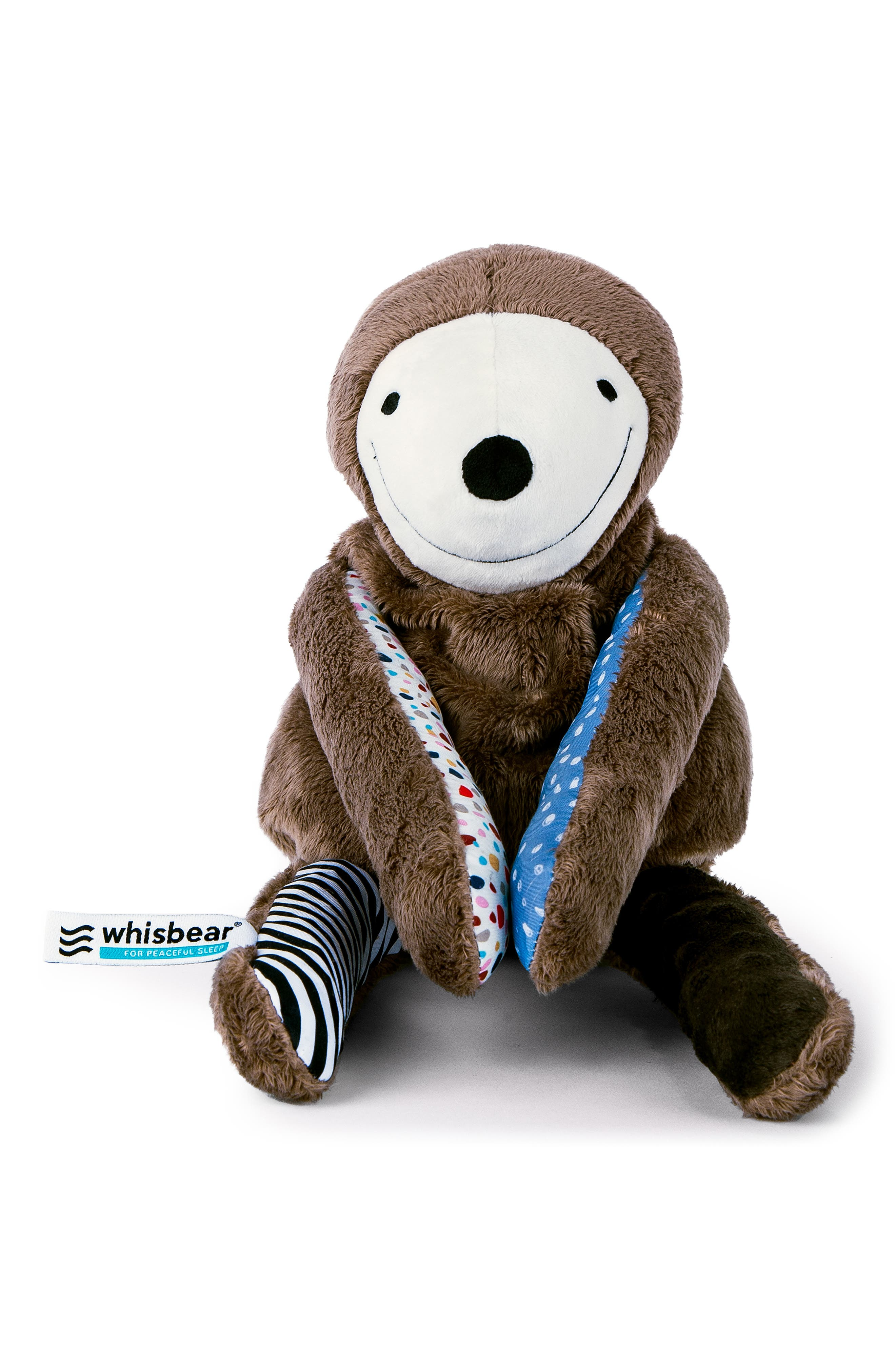 E-zzy the Sloth Baby Sleep Machine,                             Alternate thumbnail 3, color,                             BROWN