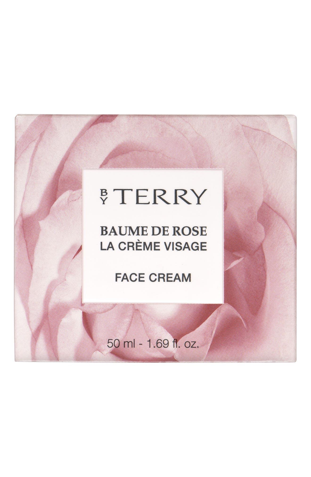 SPACE.NK.apothecary By Terry Baume de Rose Visage Face Cream,                             Alternate thumbnail 3, color,                             000