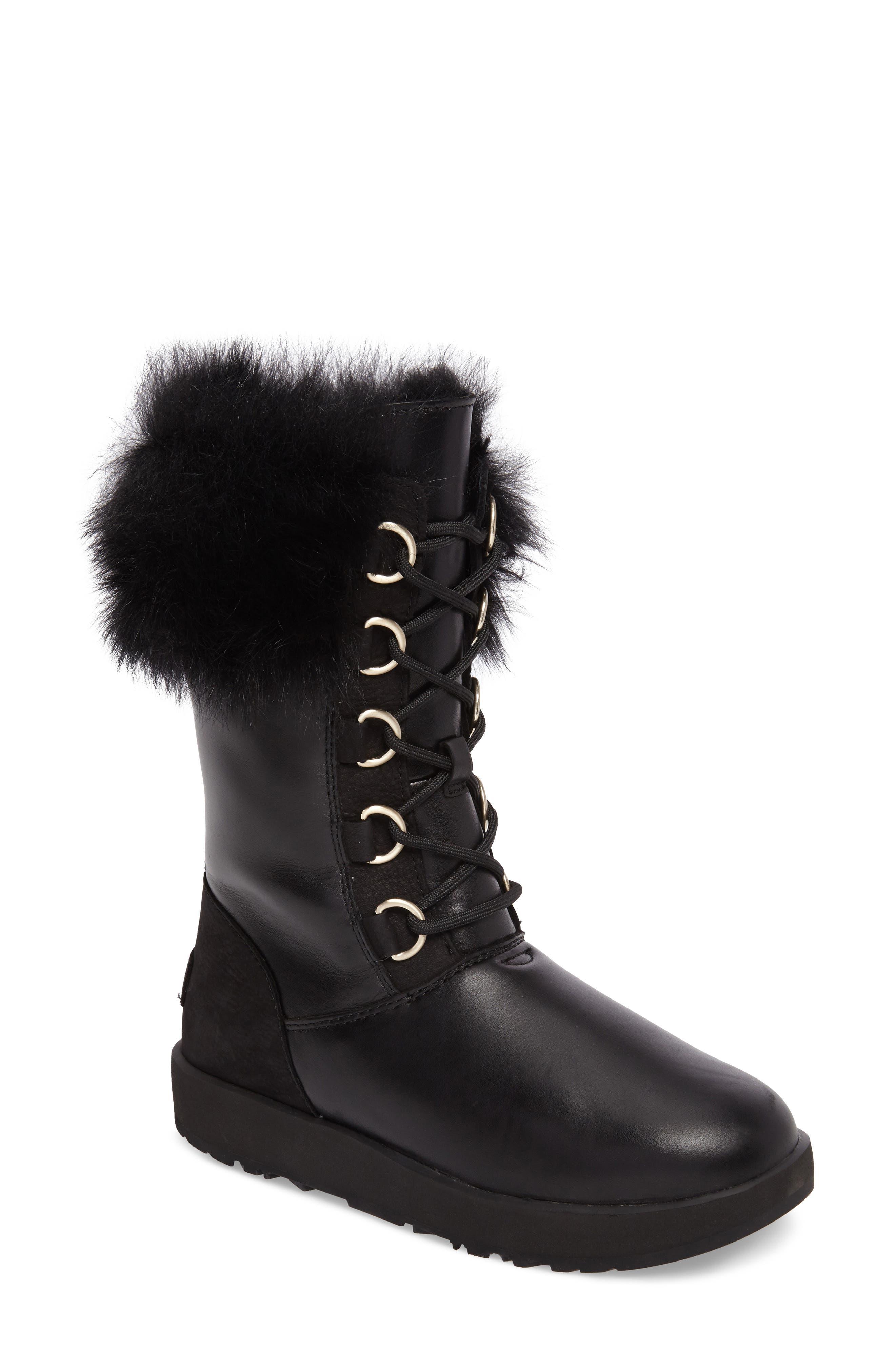 Aya Waterproof Snow Boot,                             Main thumbnail 1, color,                             001