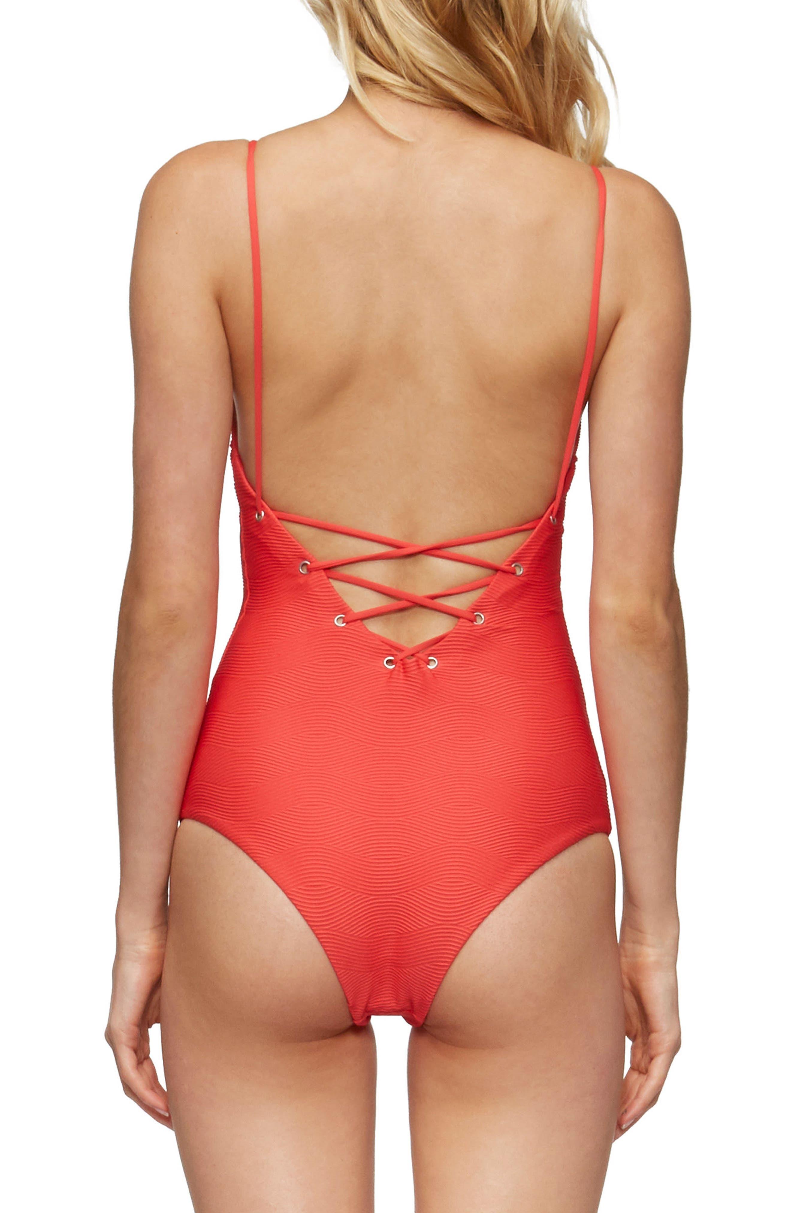Monahan One-Piece Swimsuit,                             Alternate thumbnail 2, color,                             600