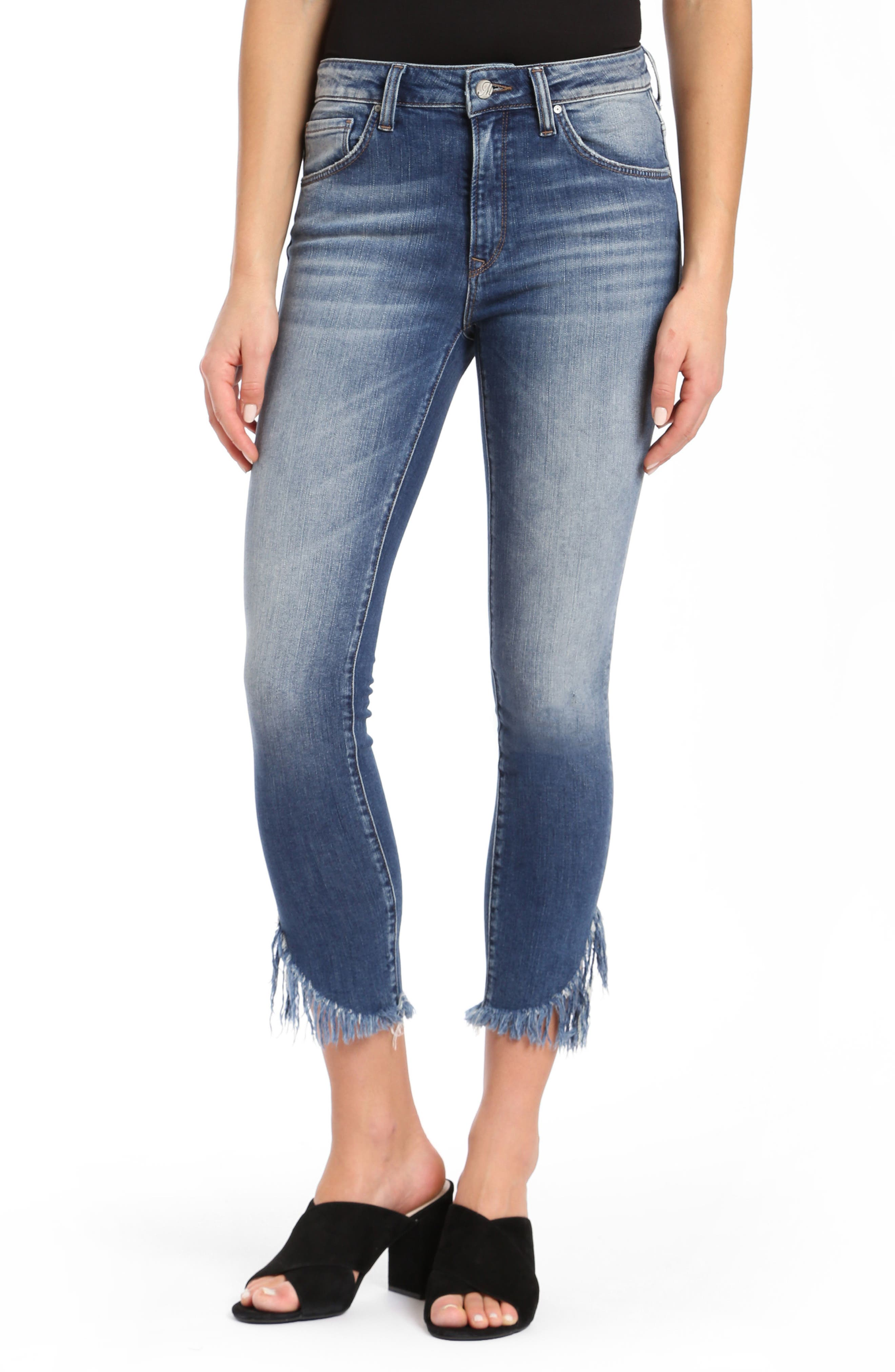 Tess Extreme Ripped Super Skinny Jeans,                         Main,                         color, EXTREME RIPPED VINTAGE