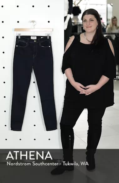Le High Distressed Skinny Jeans, sales video thumbnail