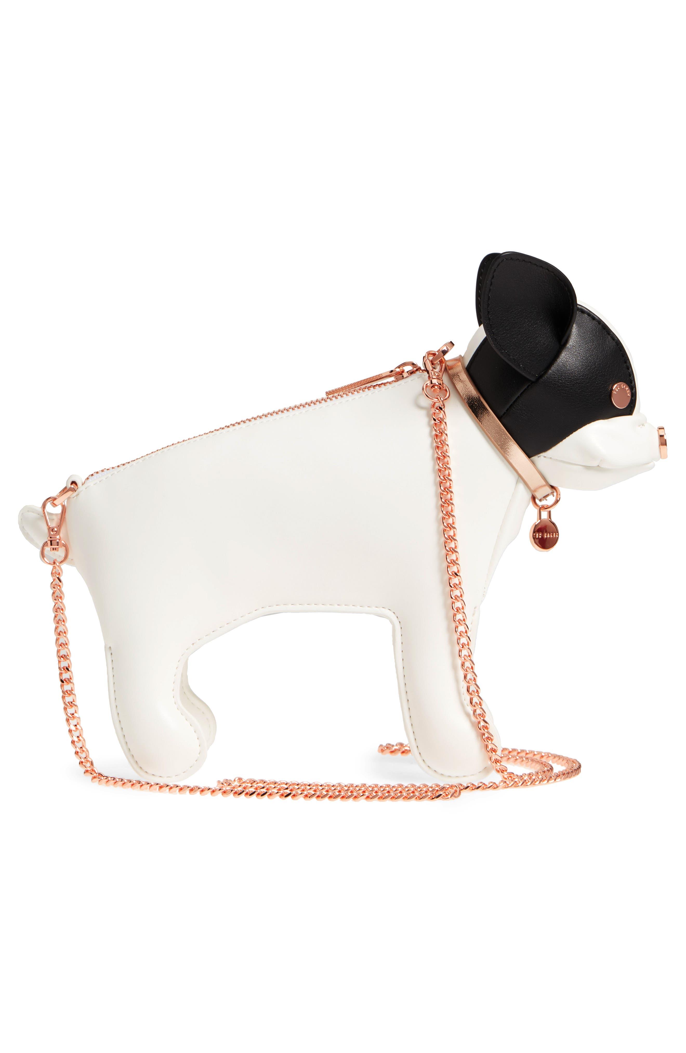 Boston Terrier Crossbody Bag,                             Alternate thumbnail 5, color,