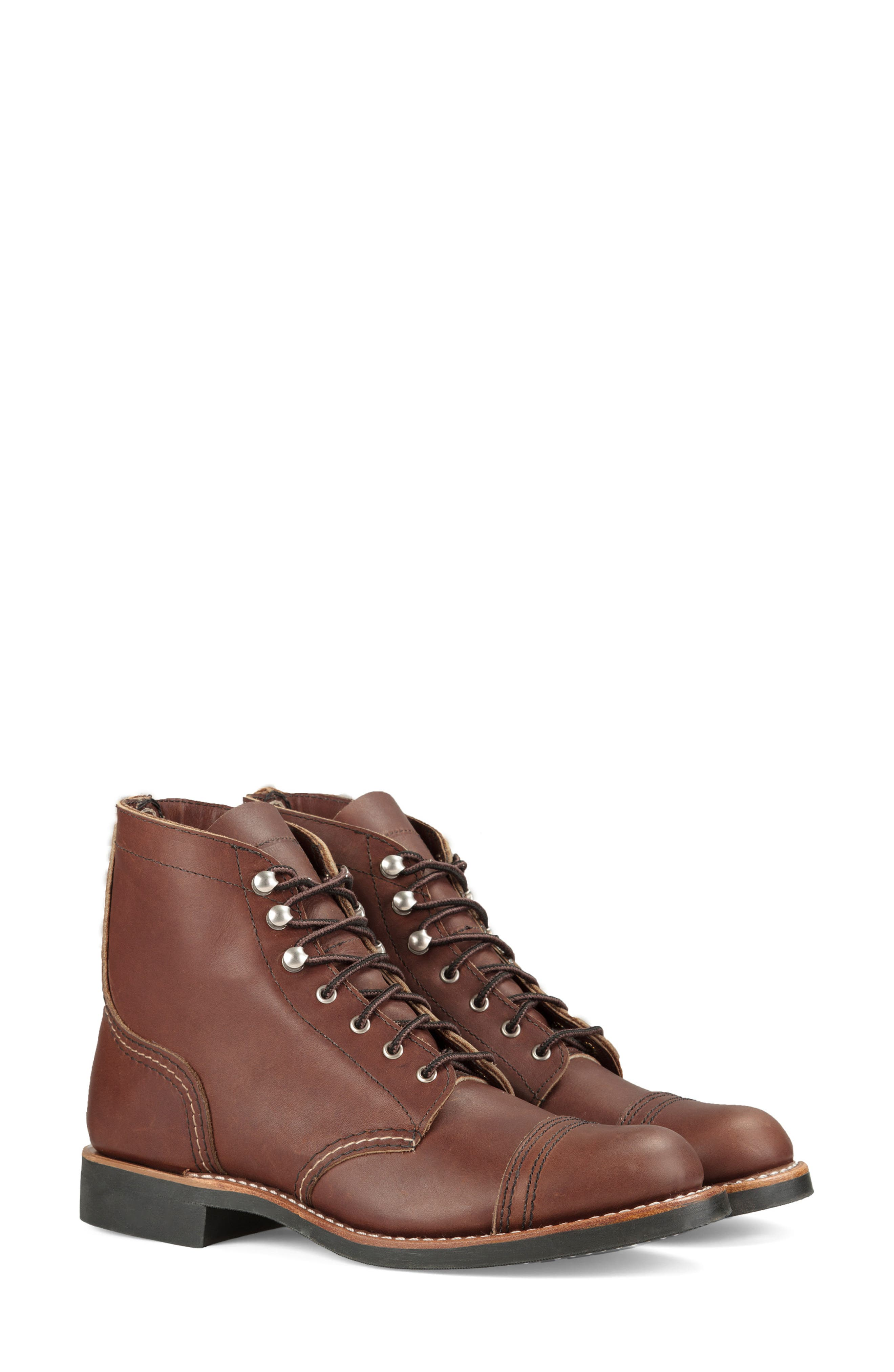 RED WING Iron Ranger Boot in Amber Harness Leather