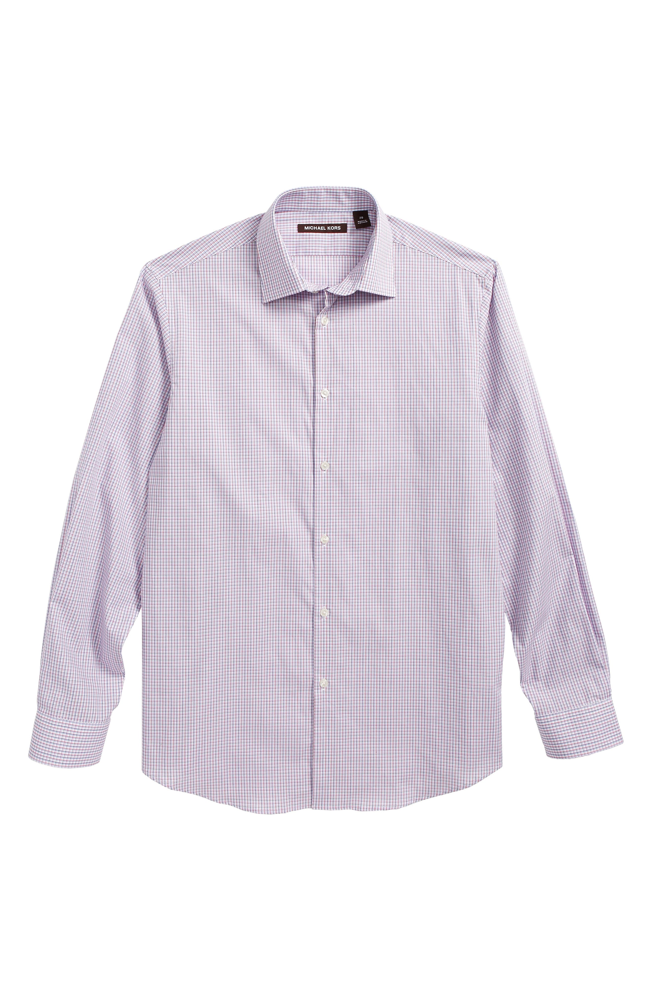 Check Dress Shirt,                         Main,                         color, 600