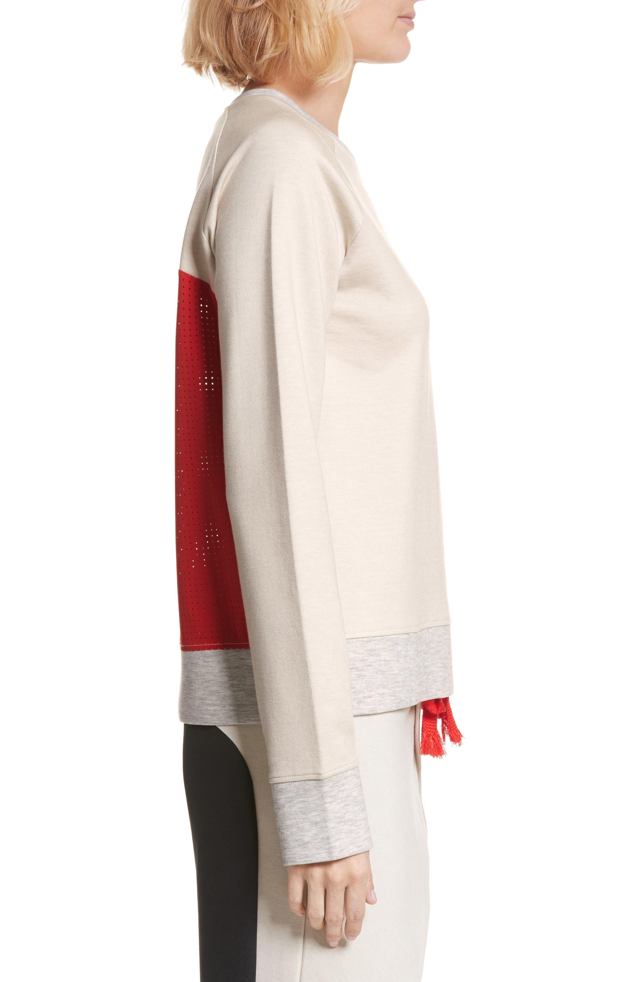 Zip Combo Sweatshirt,                             Alternate thumbnail 3, color,
