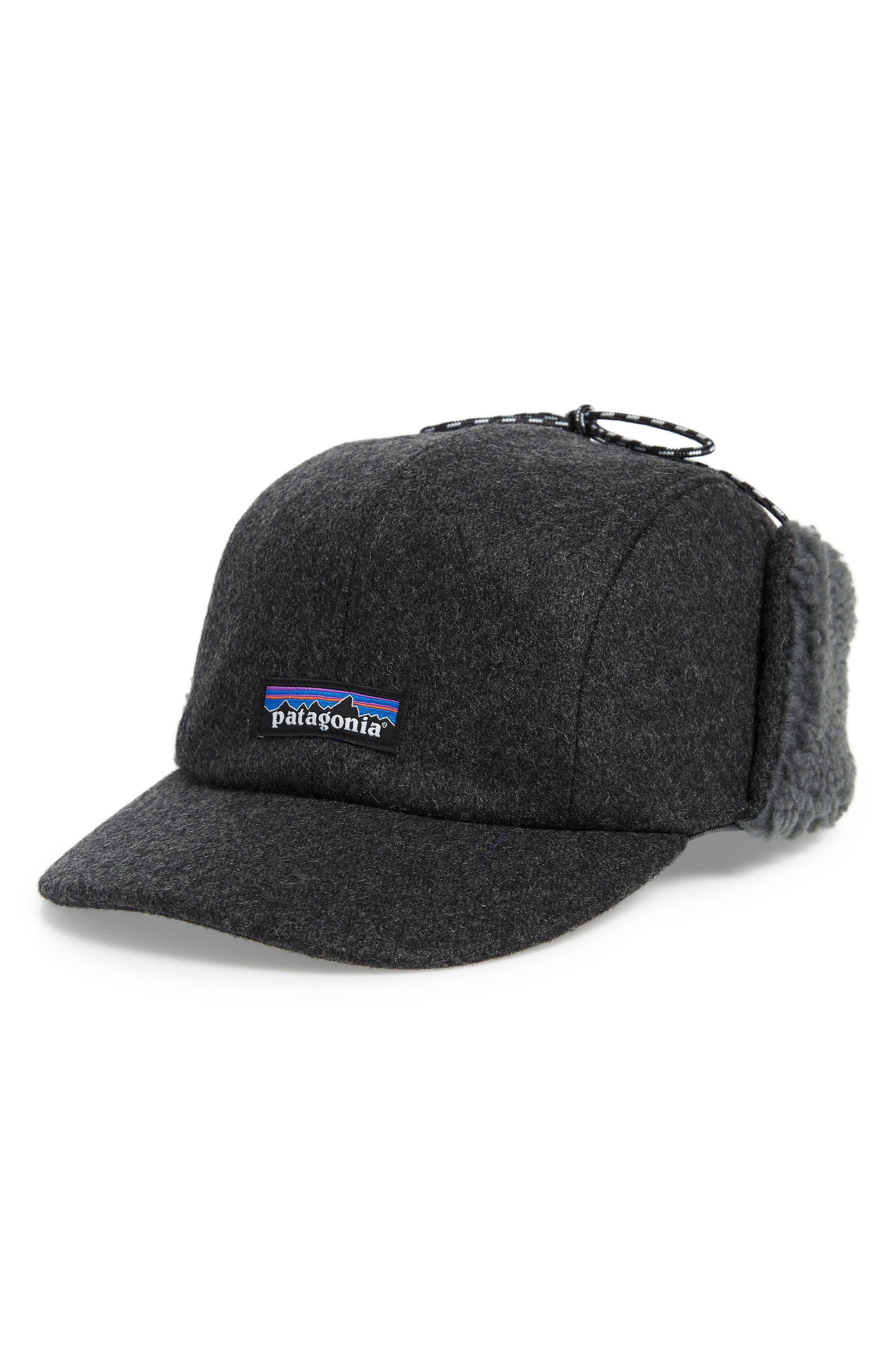 Water Repellent Ear Flap Cap,                         Main,                         color, 020