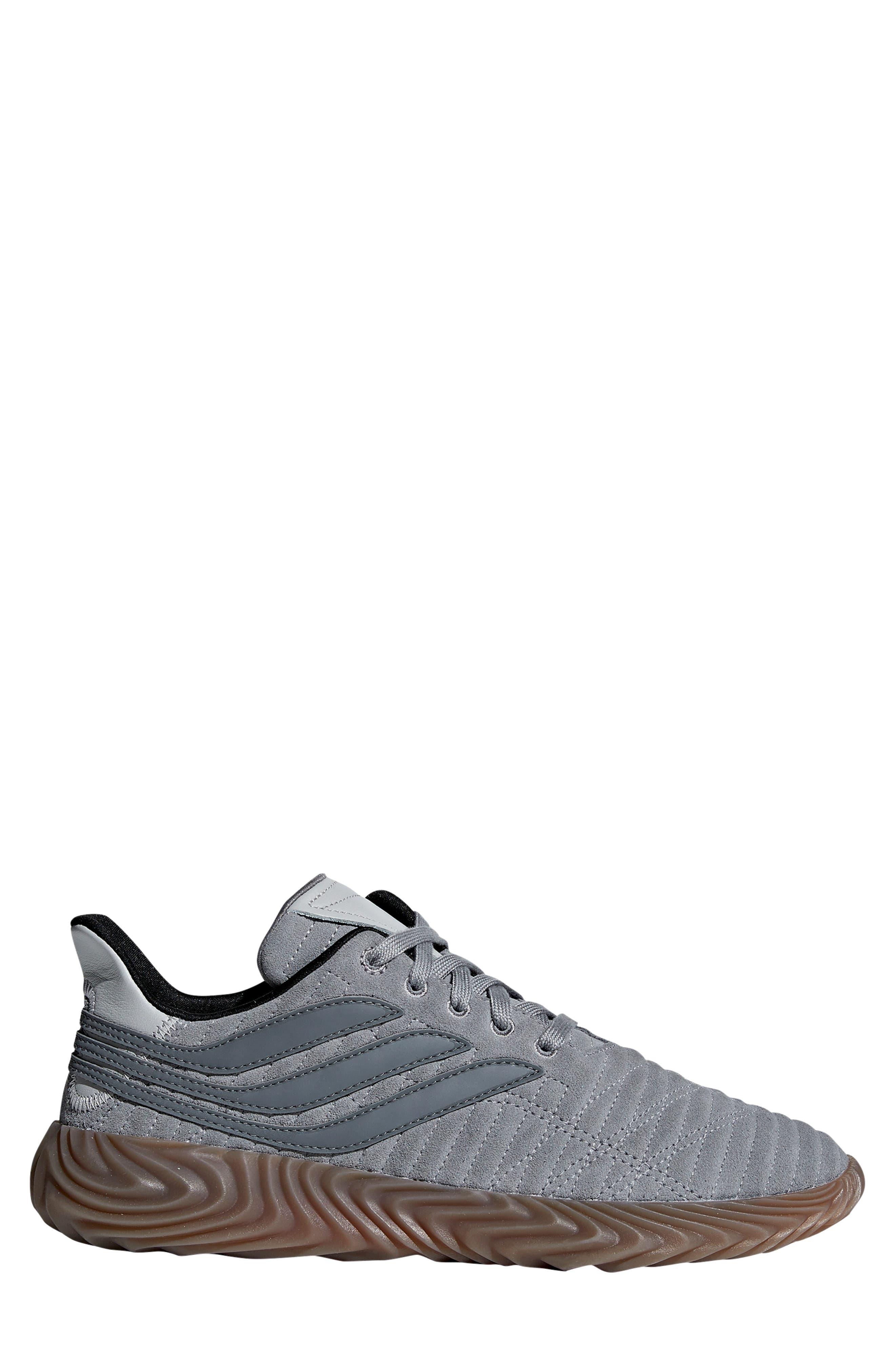 Sobakov Sneaker,                             Alternate thumbnail 3, color,                             GREY/ GREY