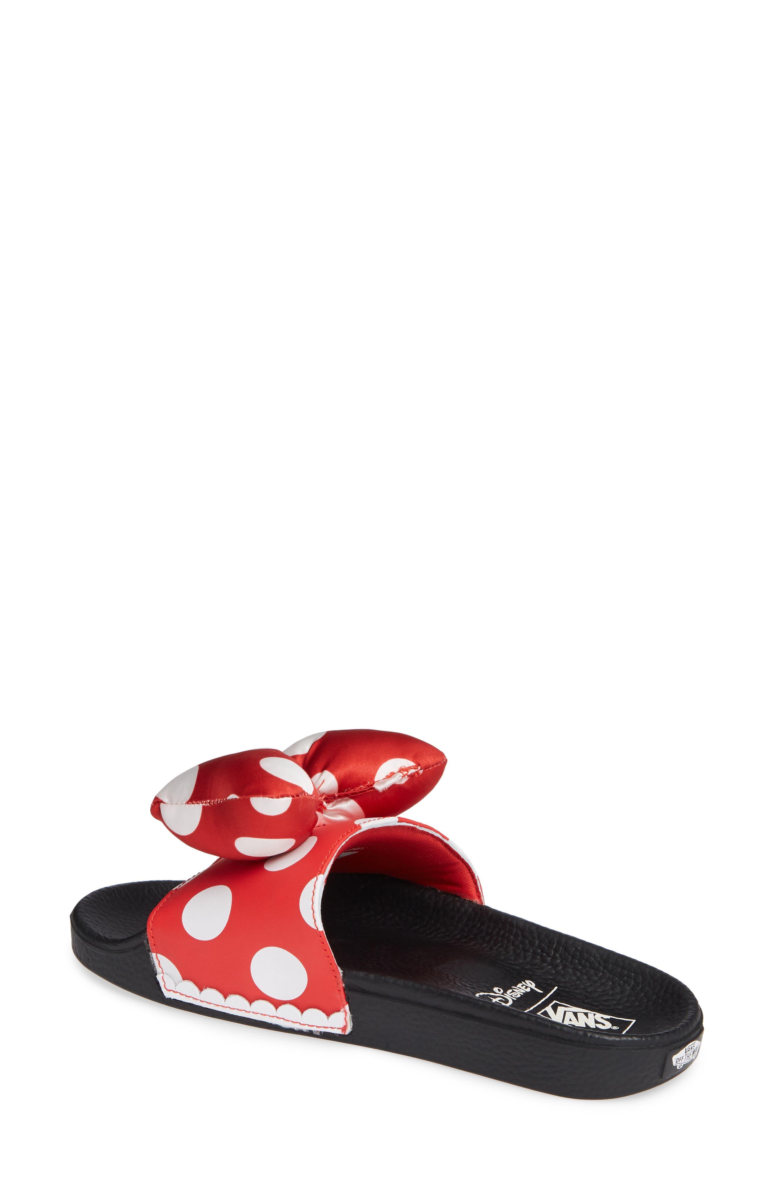 x Disney Minnie Mouse Slide Sandal,                             Alternate thumbnail 2, color,                             600