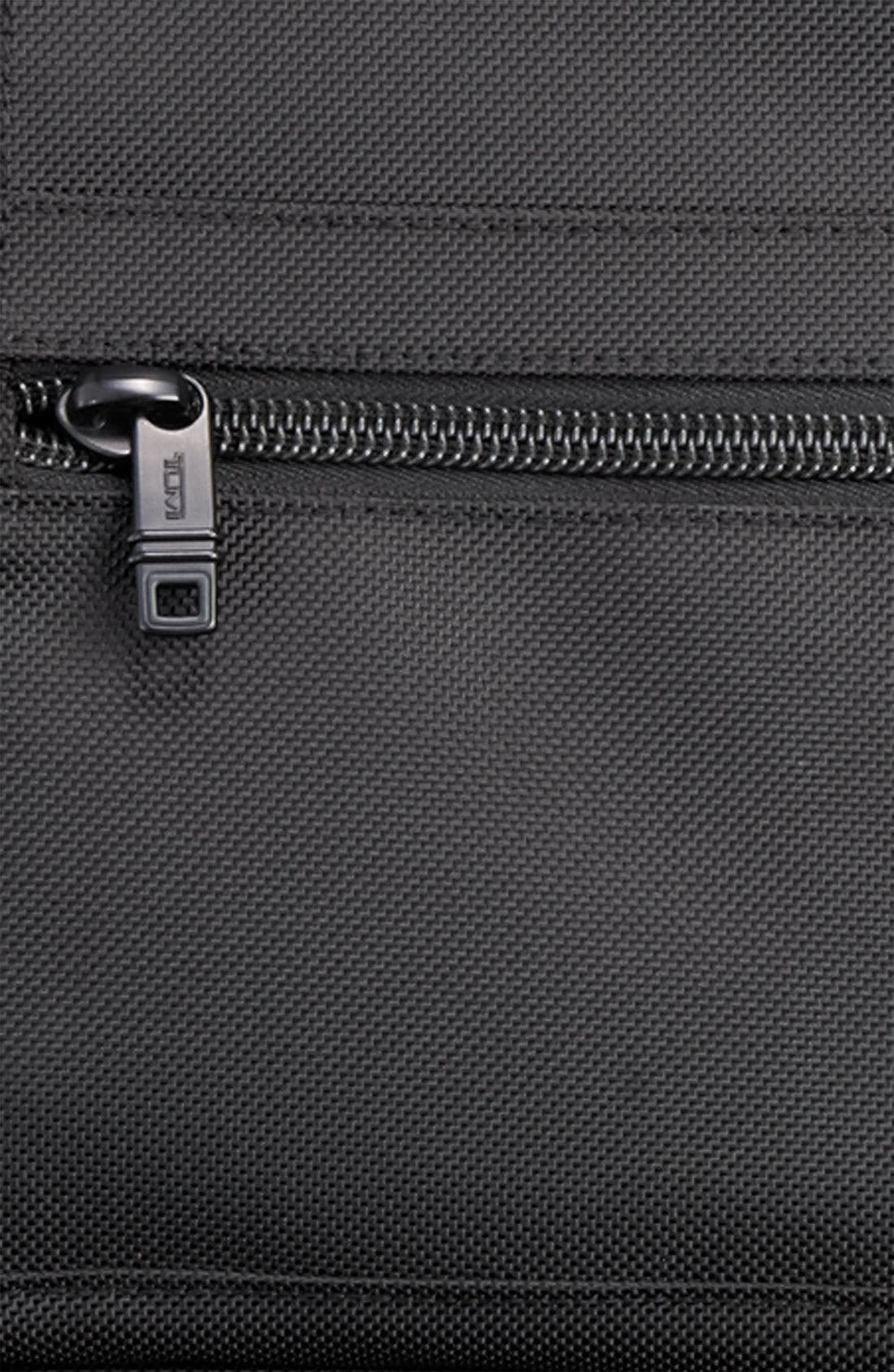 TUMI,                             'Alpha' Wheeled Carry-On Garment Bag,                             Alternate thumbnail 6, color,                             001