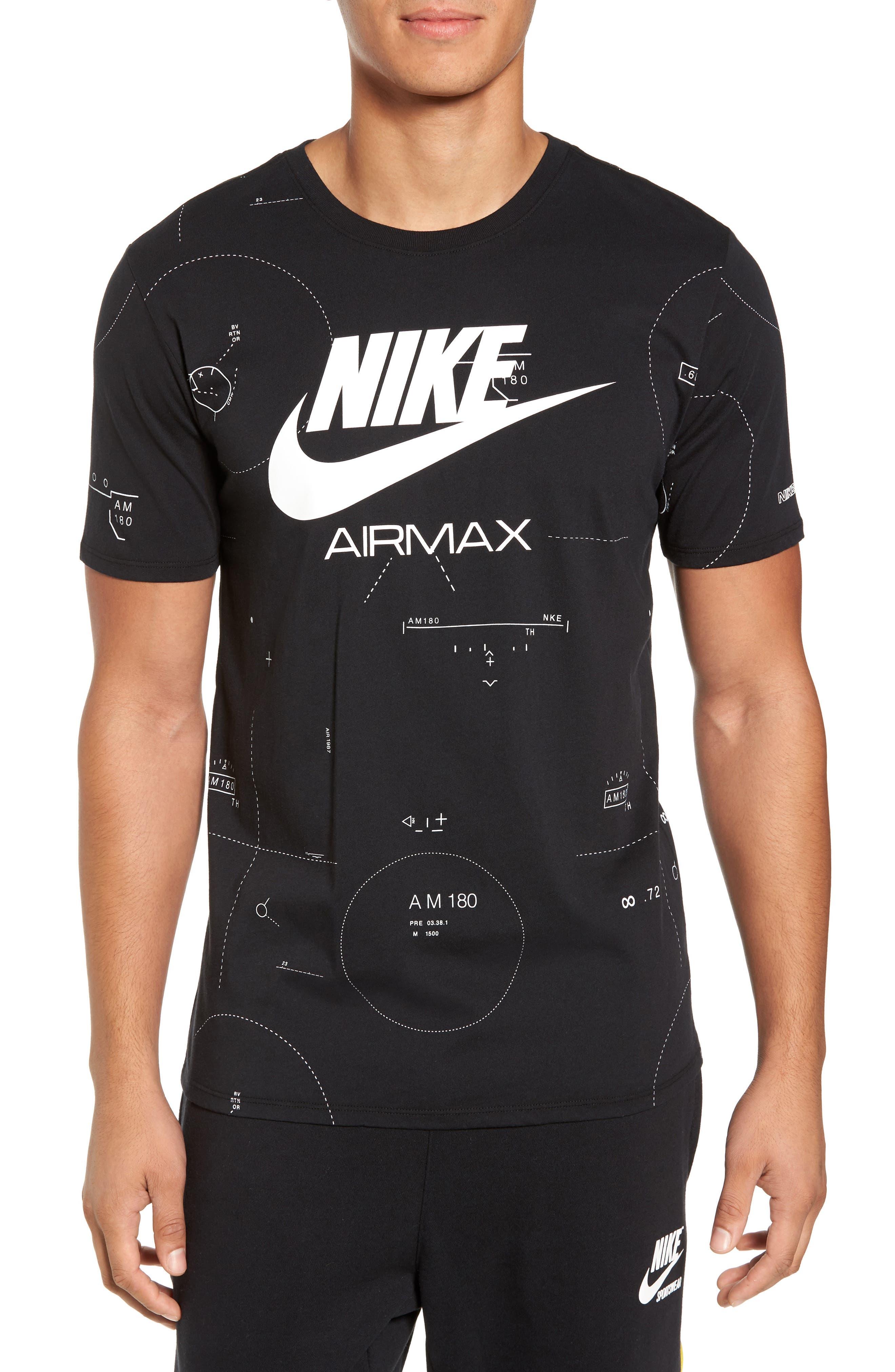 NSW Air Max 2 T-Shirt,                             Main thumbnail 1, color,                             010