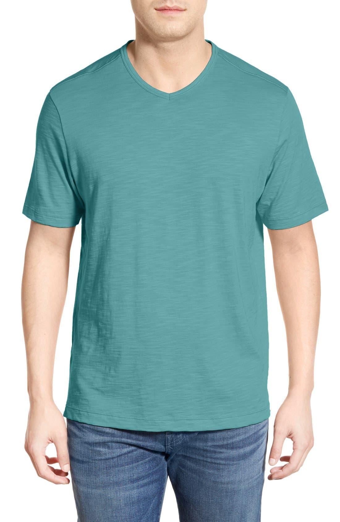 'Portside Player' Pima Cotton T-Shirt,                             Main thumbnail 7, color,