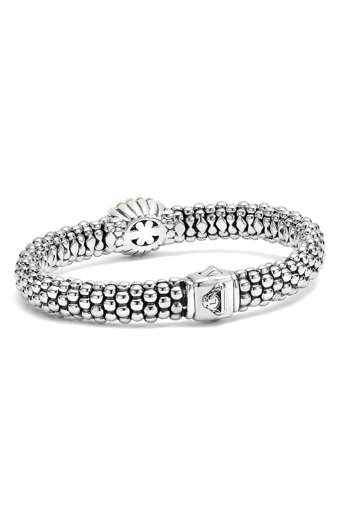 'Caviar' Diamond Bracelet,                             Alternate thumbnail 2, color,                             040