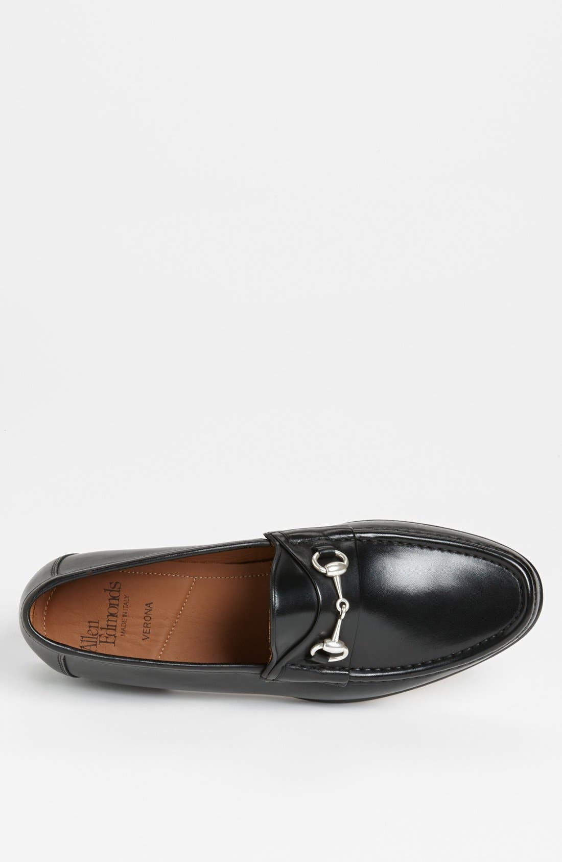 Verona II Bit Loafer,                             Alternate thumbnail 3, color,                             BLACK