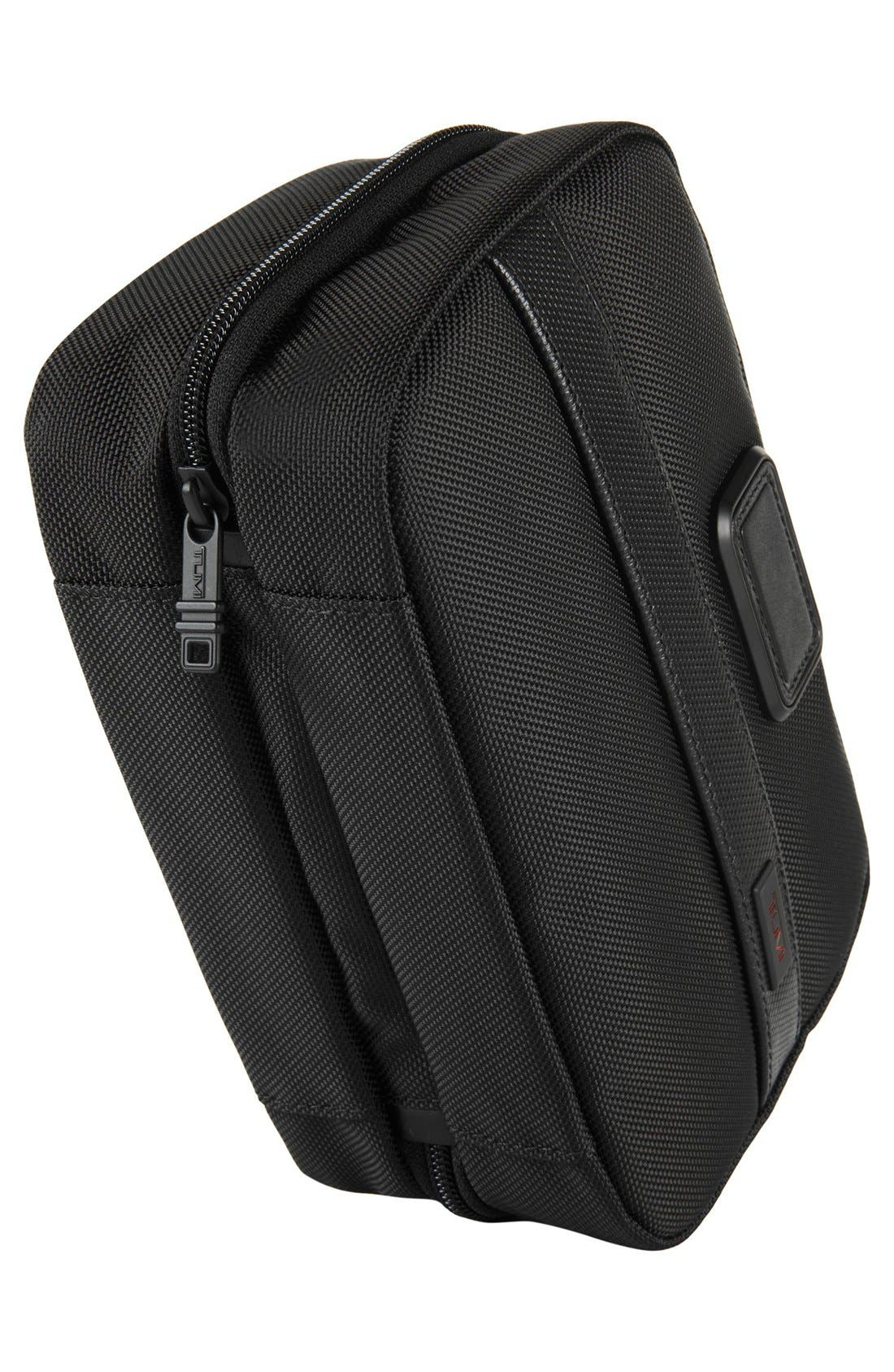 Alpha 2 Split Travel Kit,                             Alternate thumbnail 3, color,                             BLACK